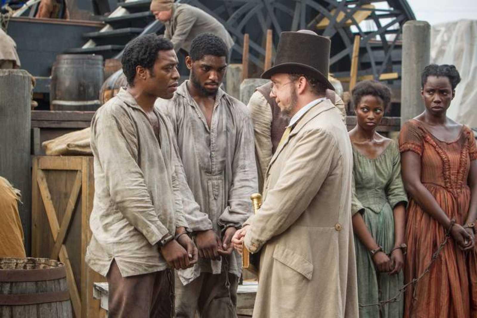 Una escena de '12 años de esclavitud'