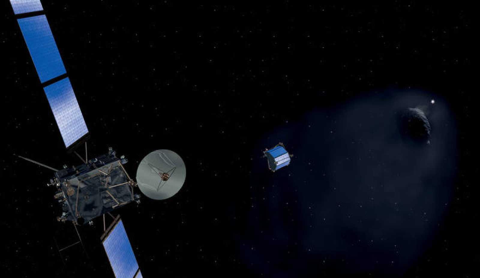 Rosetta a la 'caza' del cometa 67P/Churyumov-Gerasimenko.