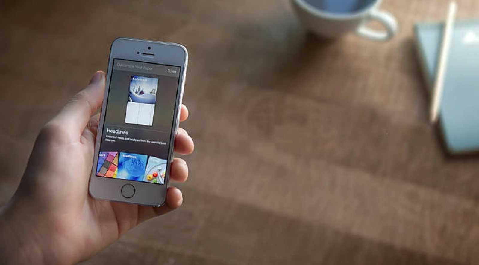 Imagen de las temáticas que ofrece Paper, la app de Facebook.