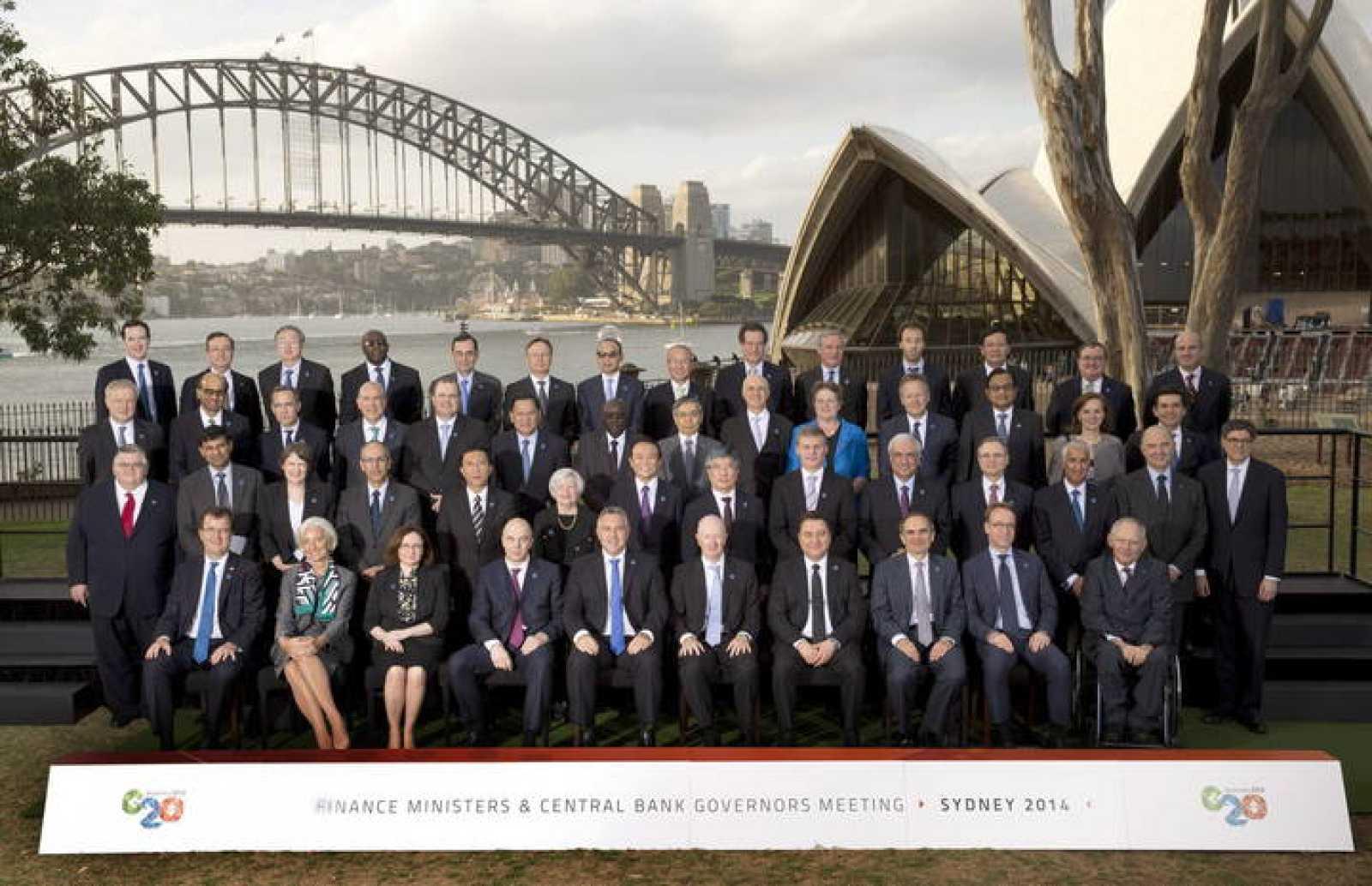 Los ministros de Finanzas y gobernadores de los bancos centrales de los países que forman el G20 se han reunido en Sídney.