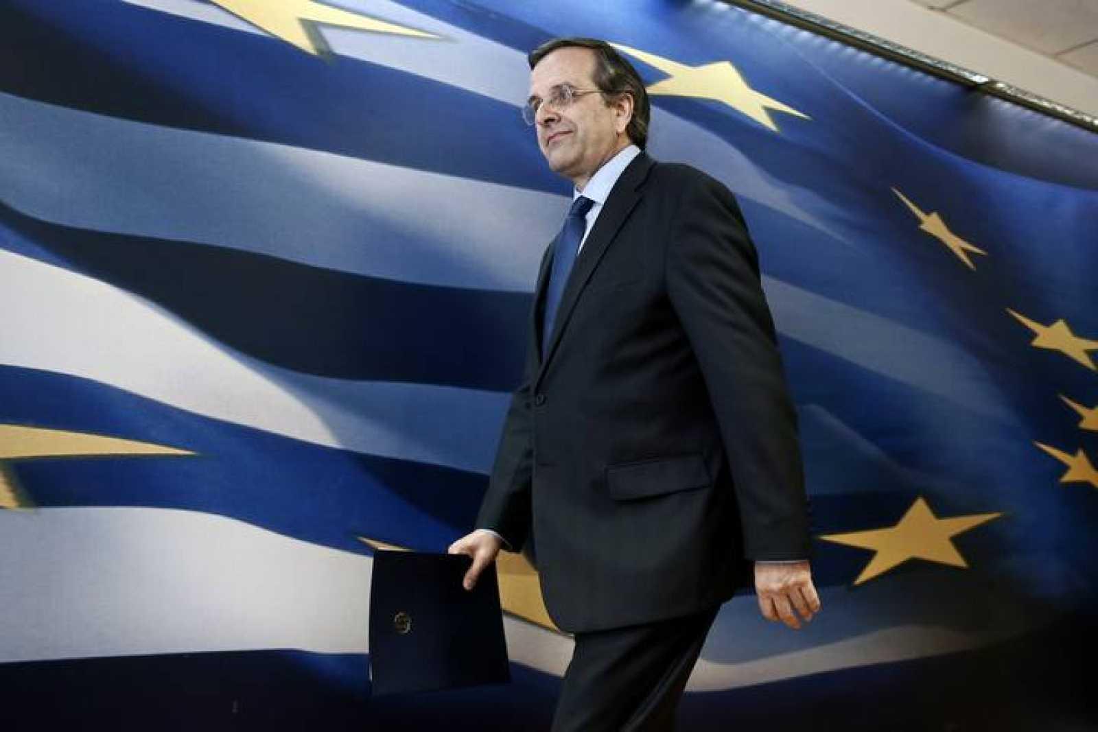 El primer ministro de Grecia, Andonis Samarás