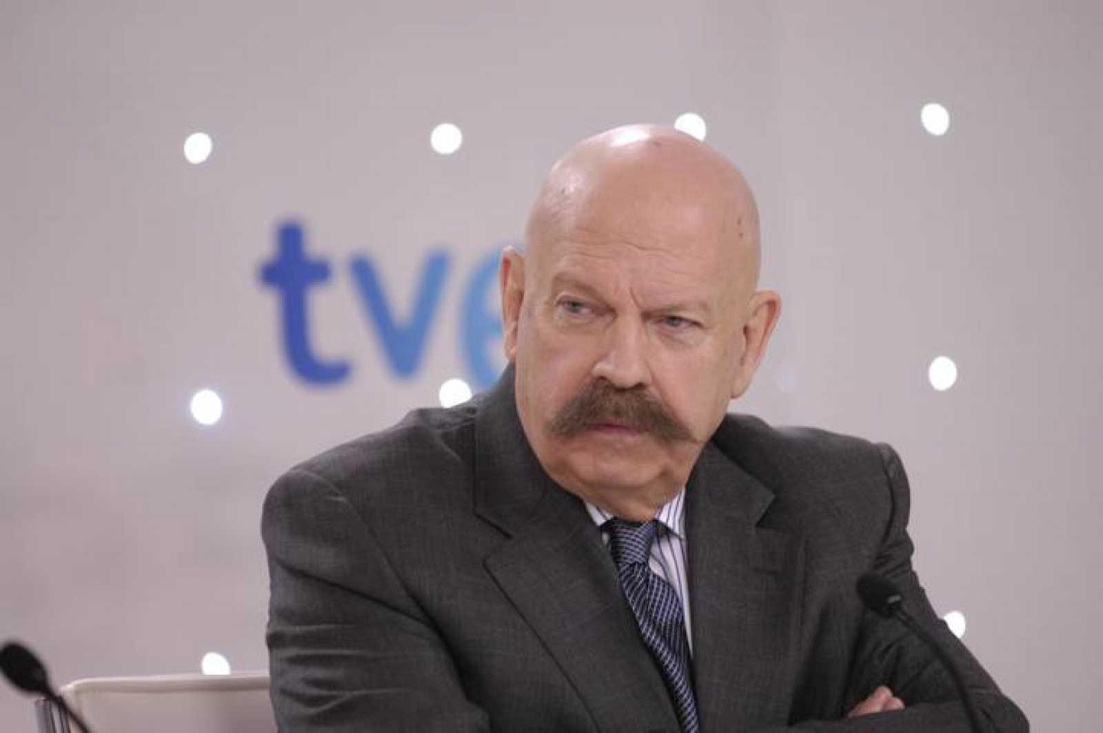 José María Íñigo, comentarista de TVE  en el Festival de Eurovisión por cuarto año consecutivo
