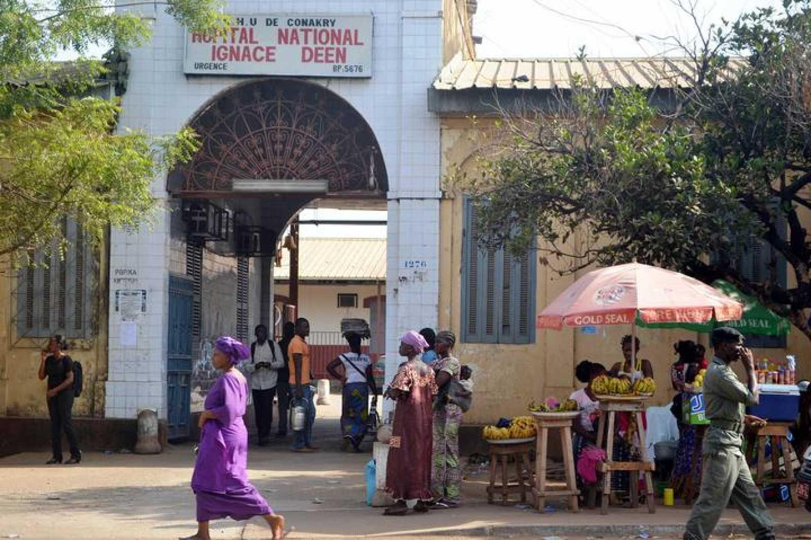 Hospital 'Ignace Deen', en Conakry, capital de Guinea