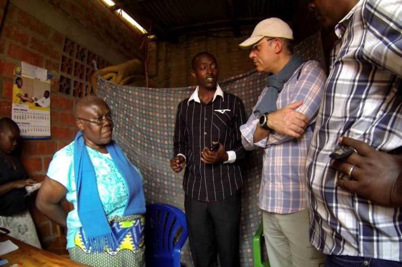 Valérie Bemeriki, locutora de la Radio Mil Colinas, en su celda de la prisión de Nyarugenge. De sus labios salieron mensajes que provocaron la asesinato de miles de personas.