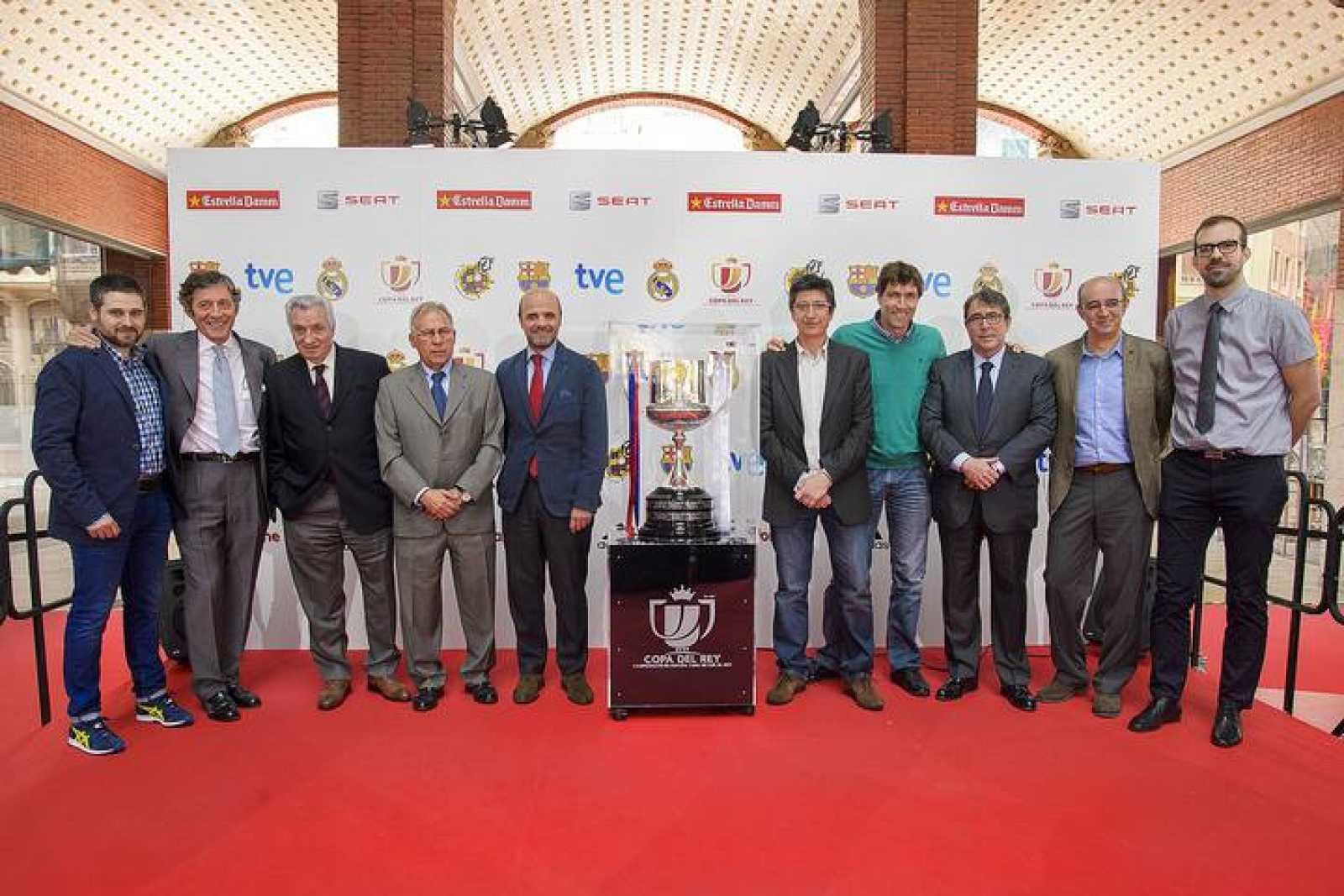 Presentación en Valencia: Final Copa del Rey 2014: vuelve el clásico FC Barcelona-Real Madrid con un excepcional despliegue en RTVE