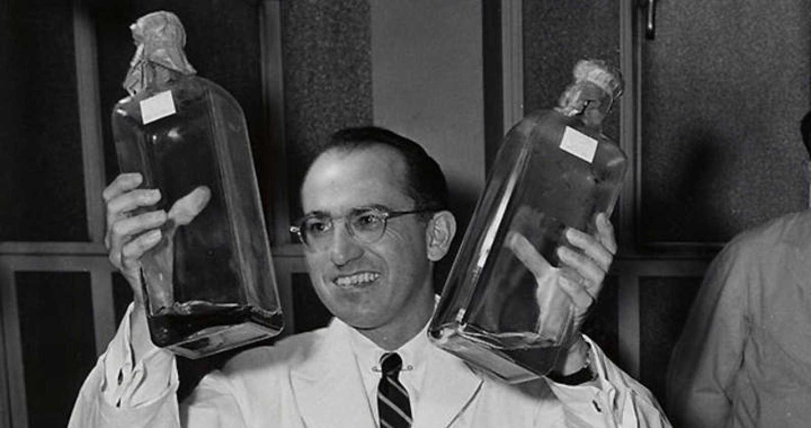 Jonas Salk, creador de la primera vacuna de polio