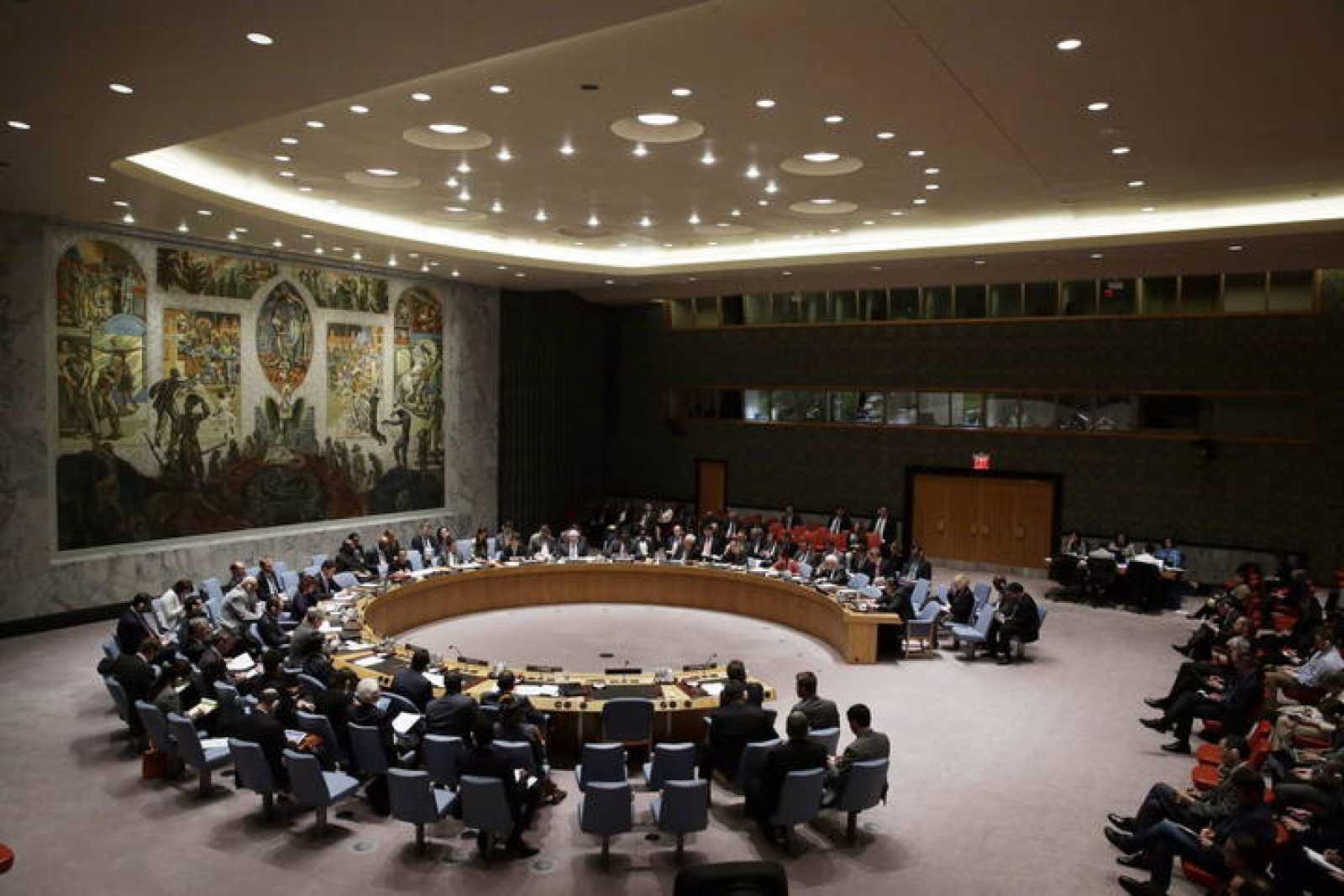 Imagen de archivo de una reunión del Consejo de Seguridad de la ONU.
