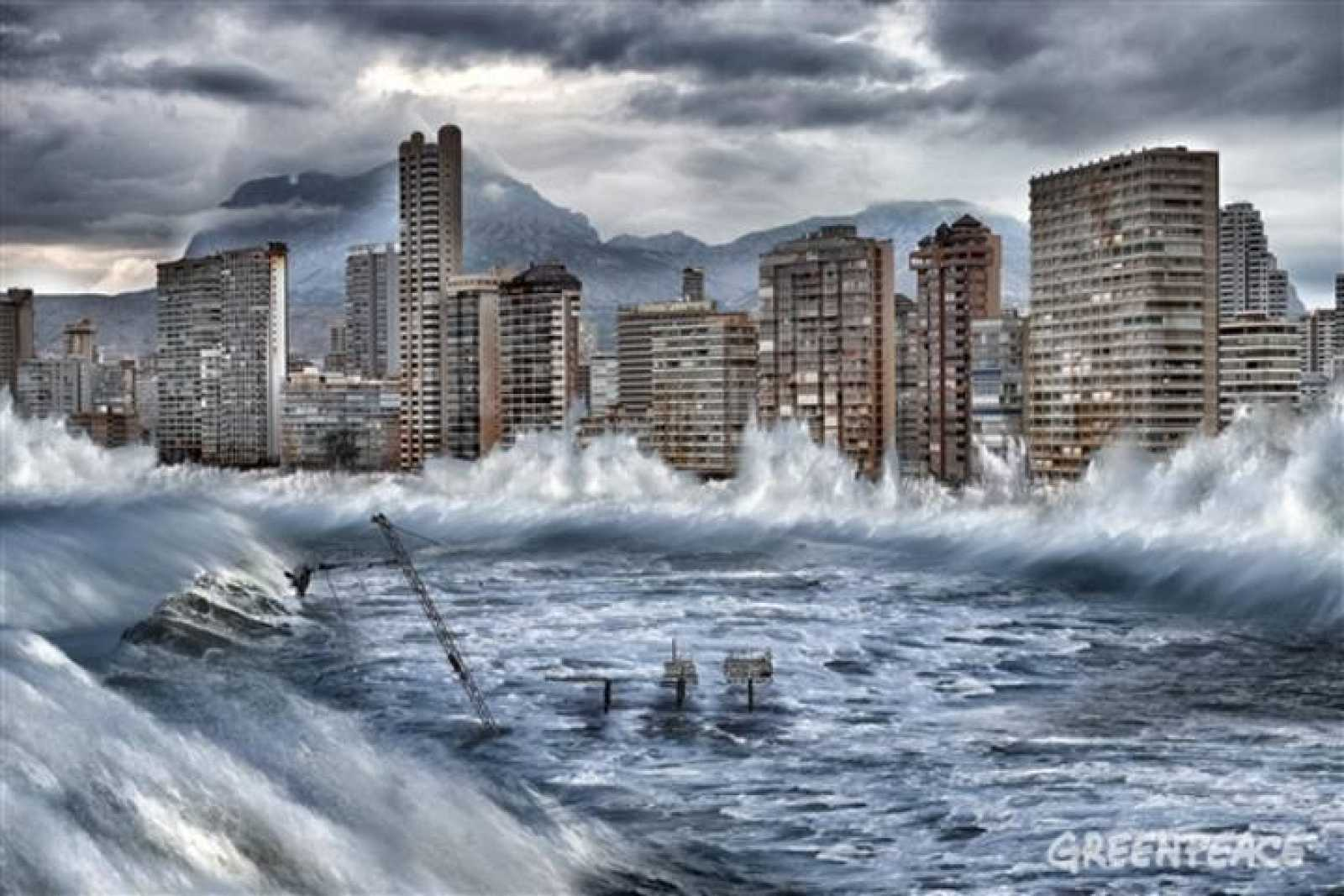 Benidorm afectado por el cambio climático