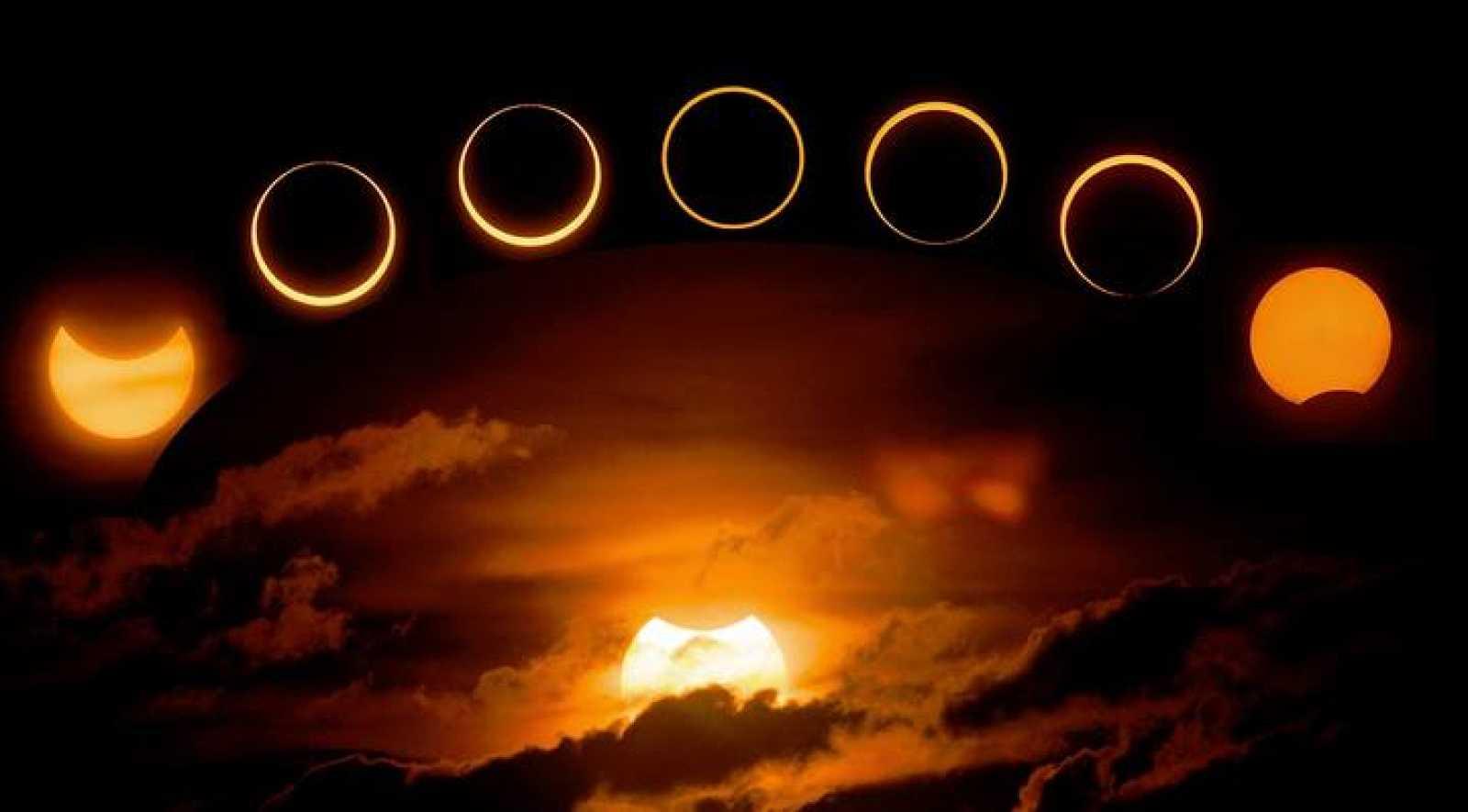 Imagen de un eclipse solar tomada en 2013 por Jay Pasachoff.