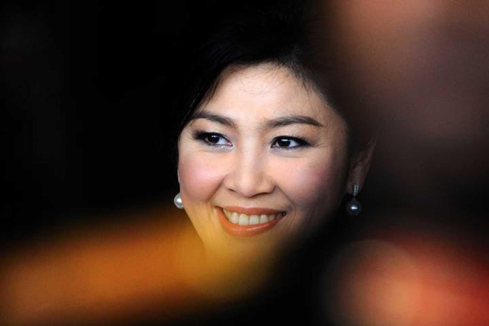 Imagen de archivo de la primera ministra tailandesa, Yingluck Shinawatra