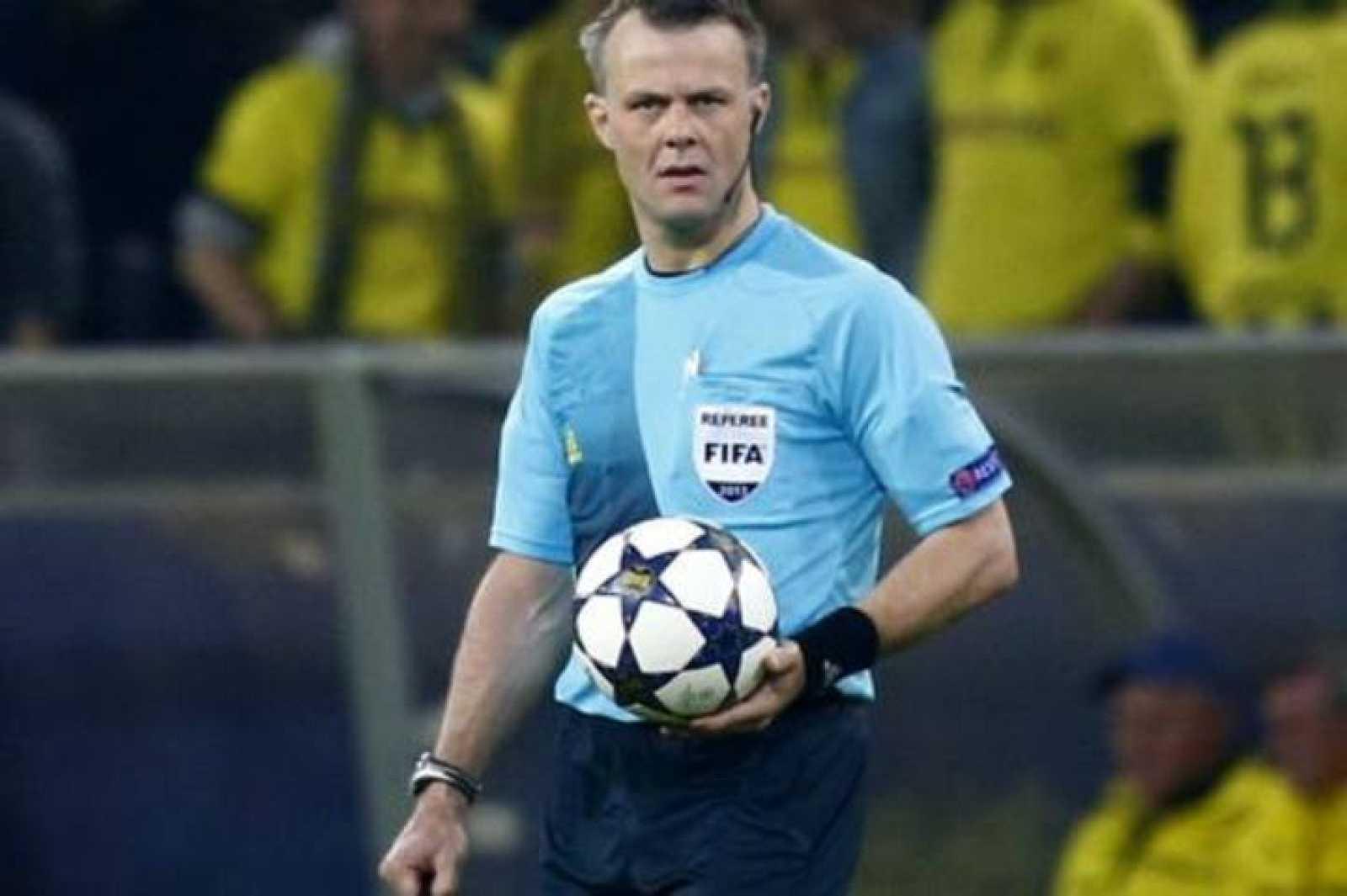 Björn Kuipers será el encargado de abitrar la final de Champions entre Real Madrid y Atlético de Madrid.
