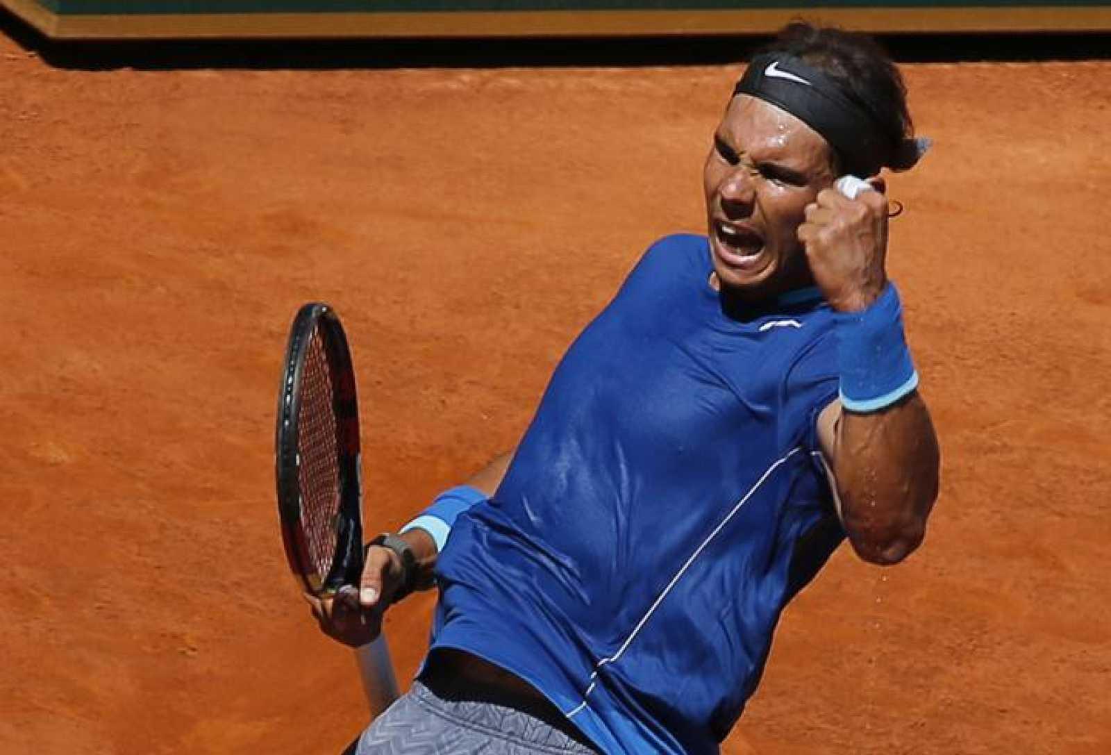 Rafa Nadal, en el Masters 1000 de Madrid