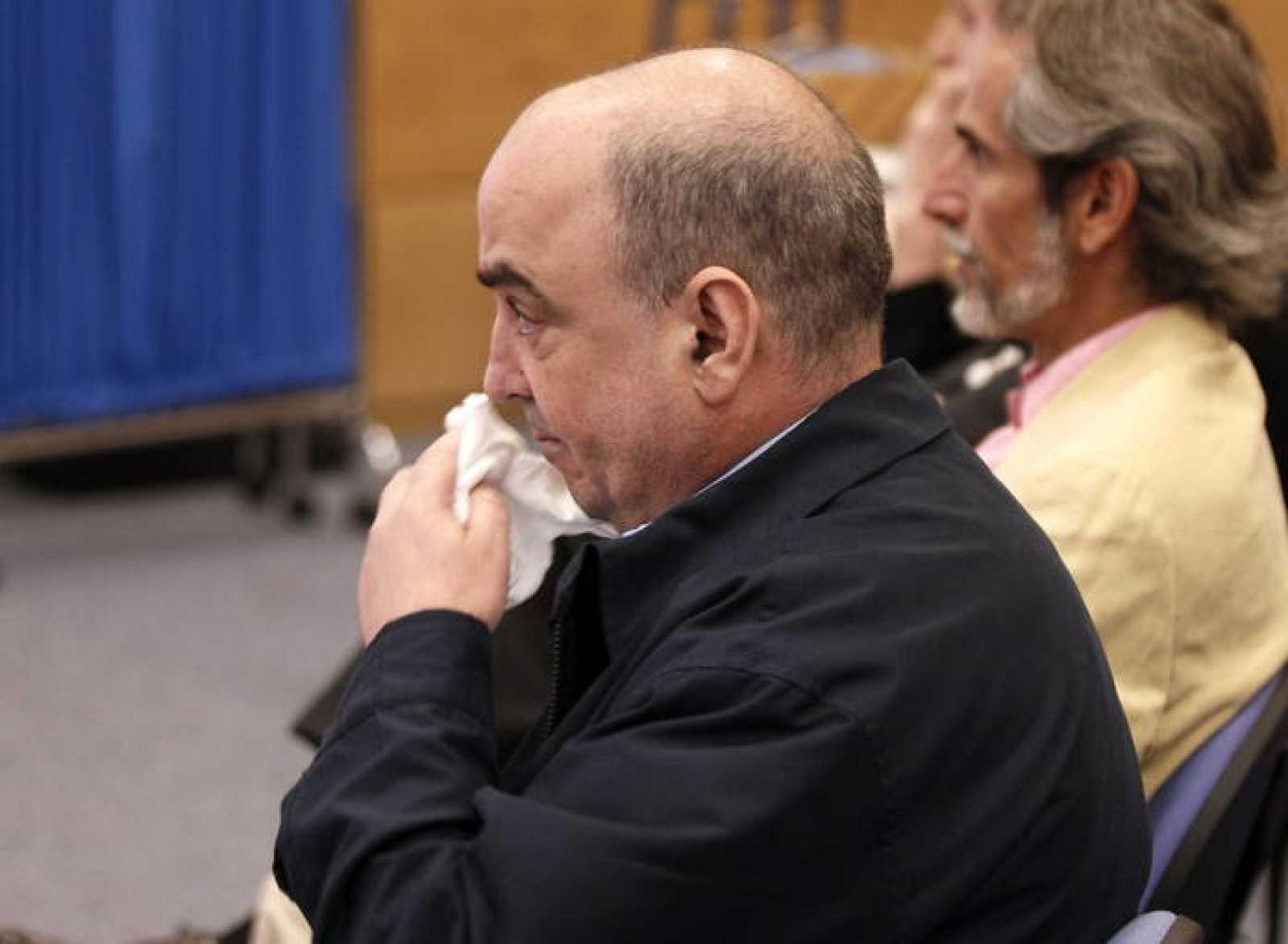 Rafael Chacón fabricante del Bio-Bac, durante el juicio que ha comenzado este lunes.