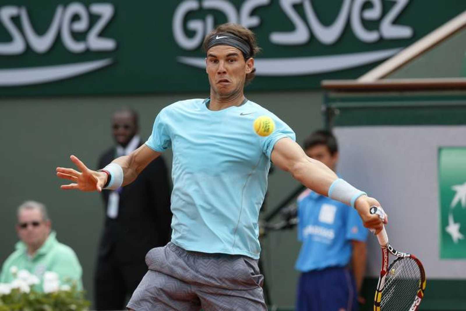 Rafa Nadal, en octavos de final de Roland Garros