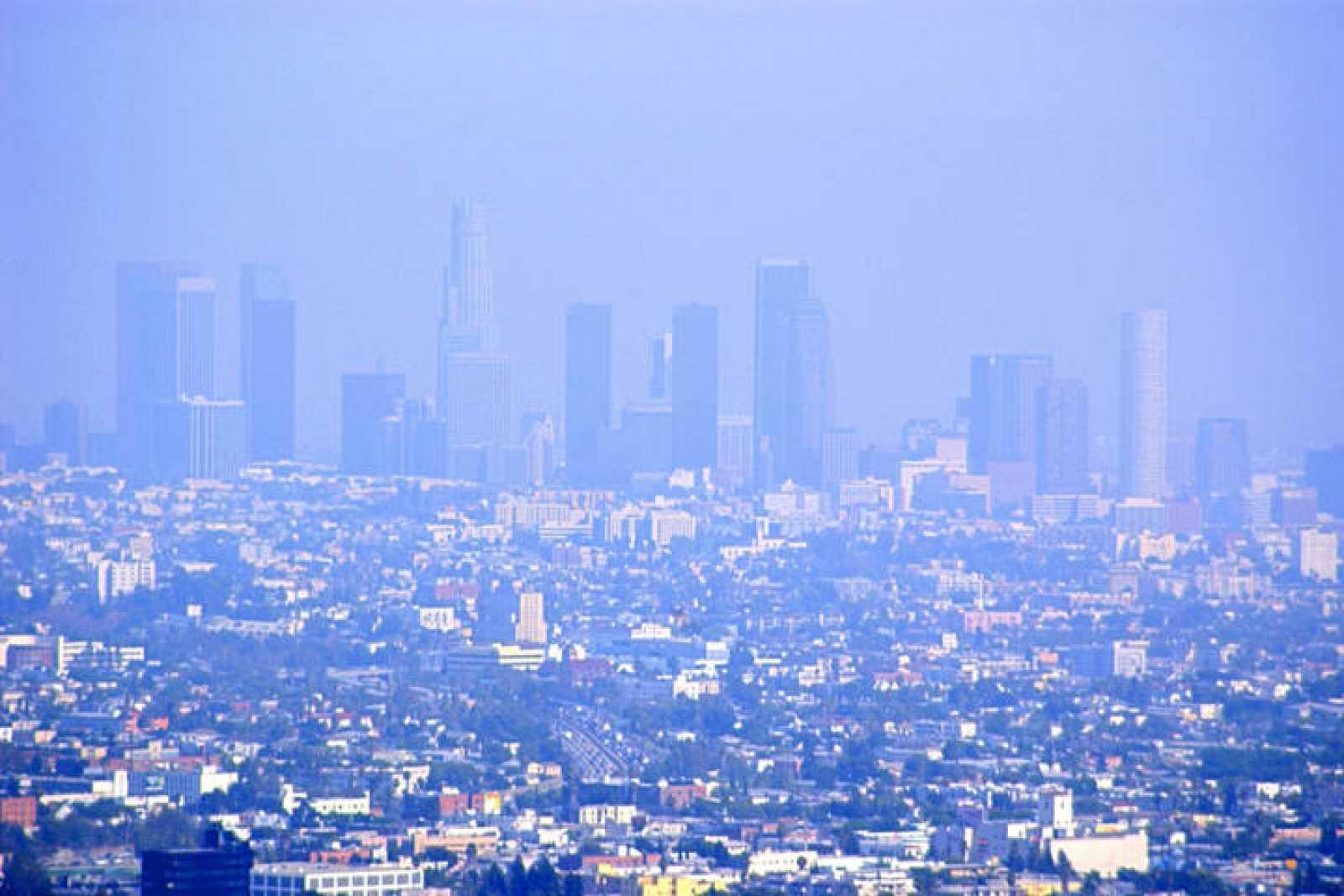 Contaminación en Los Ángeles.