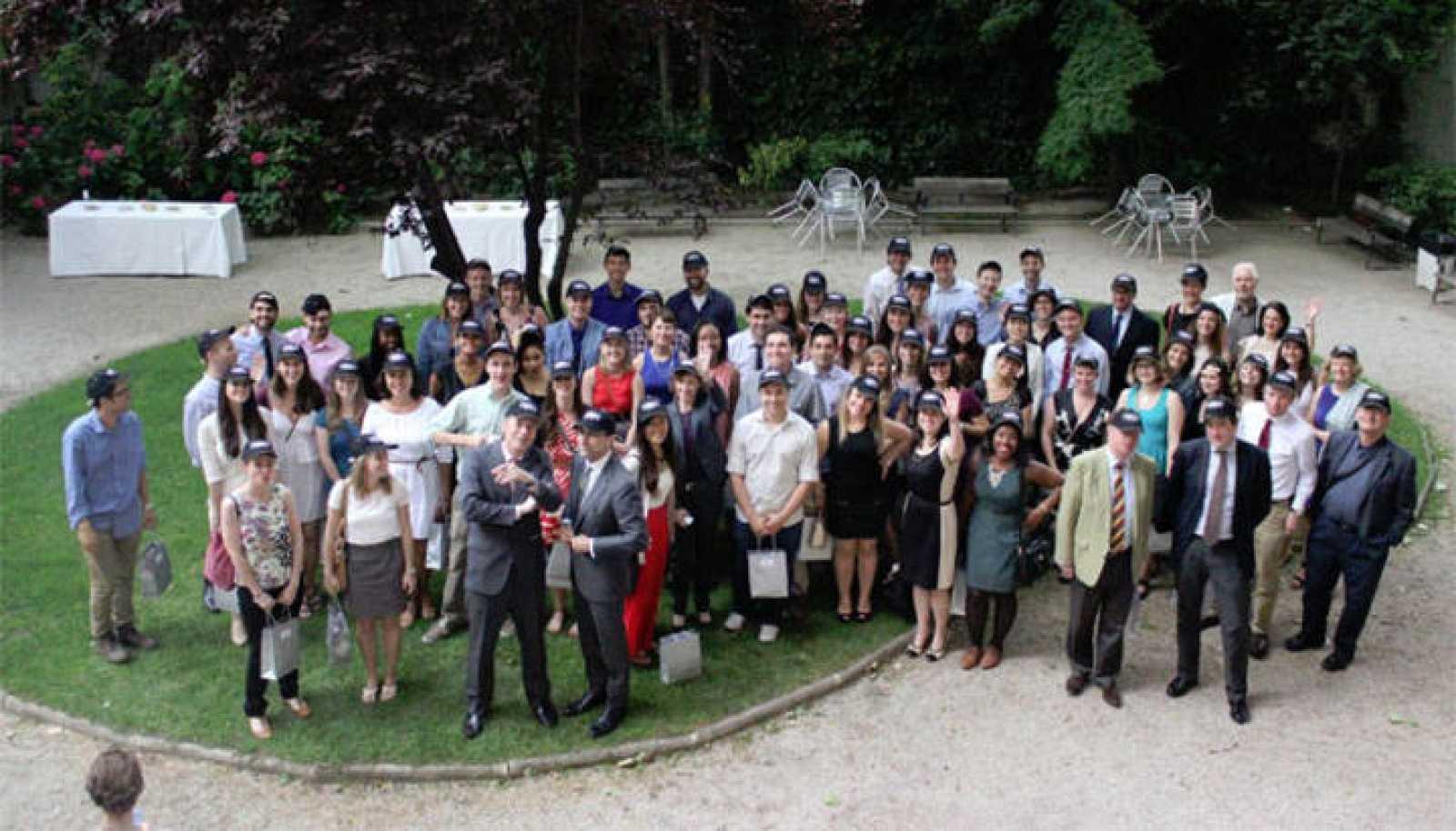 Participantes en el programa Fulbright que ha ganado el Príncipe de Asturias de la Cooperación