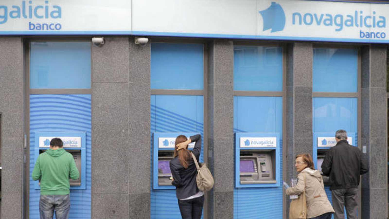 Imagen de archivo de una sucursal de Novagalicia Banco