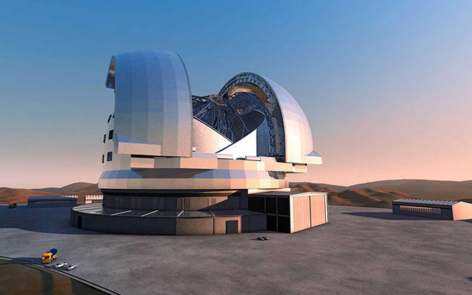 El Telescopio Europeo Extremadamente Grande, cuya construcción comienza