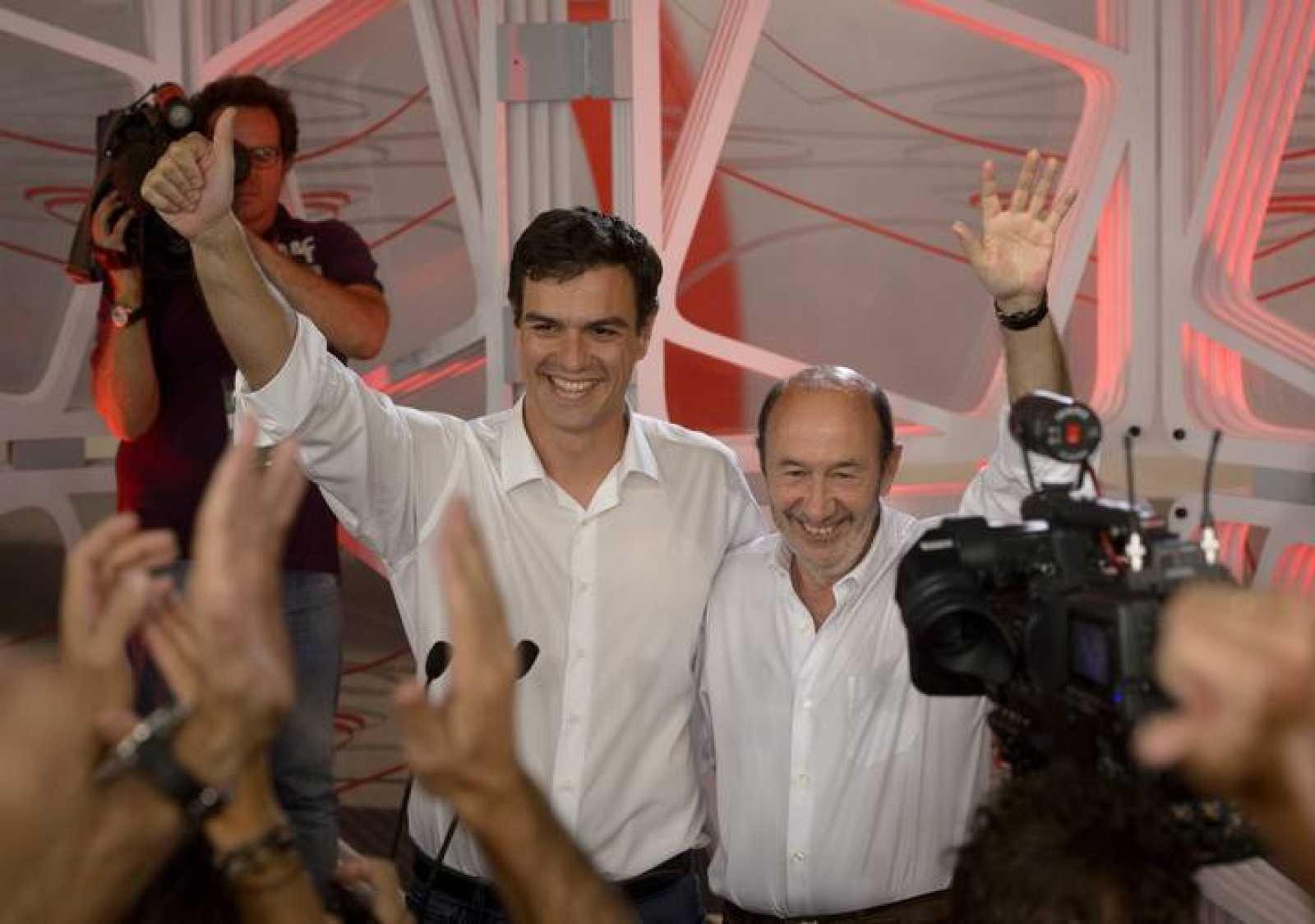 Pedro Sánchez, elegido nuevo secretario general del PSOE
