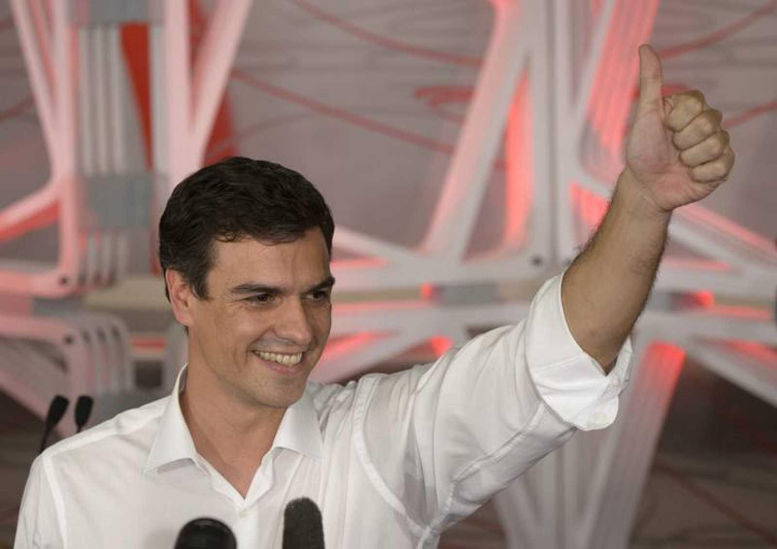 Pedro Sánchez, el recién elegido líder del PSOE