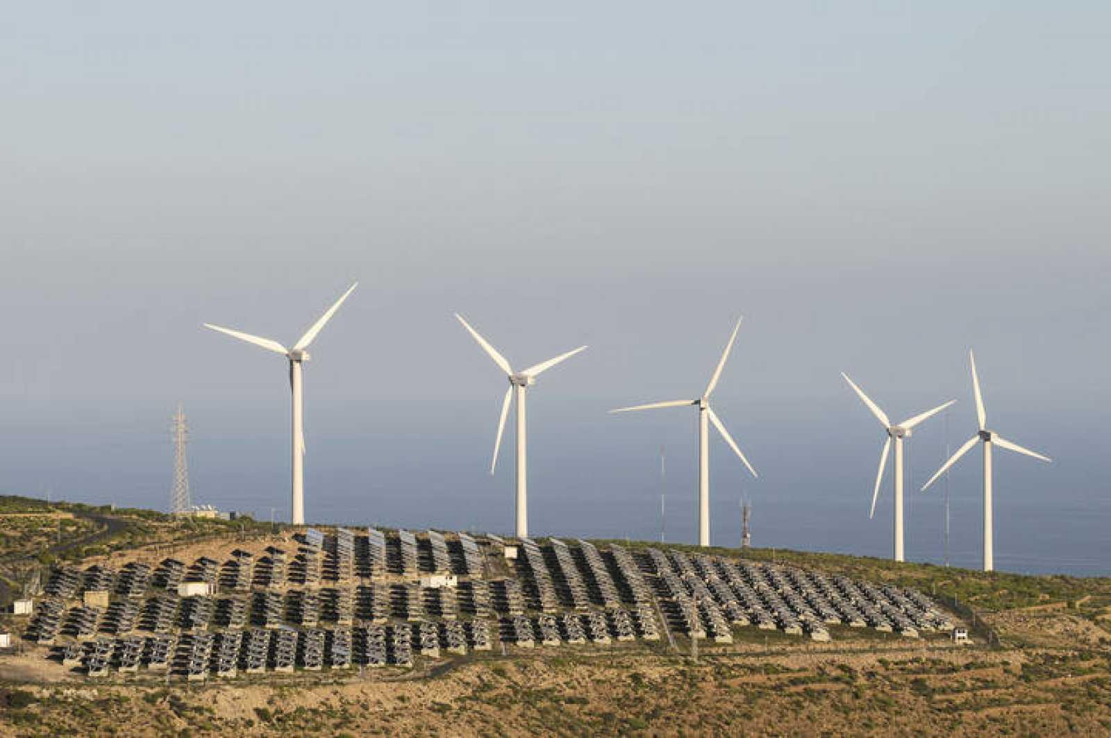 Planta de energías renovables.