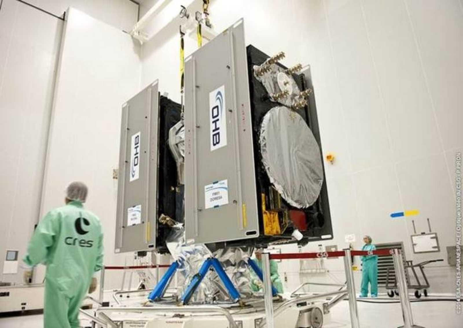 Dos nuevos satélites Galileo a punto de ser lanzados por la ESA.