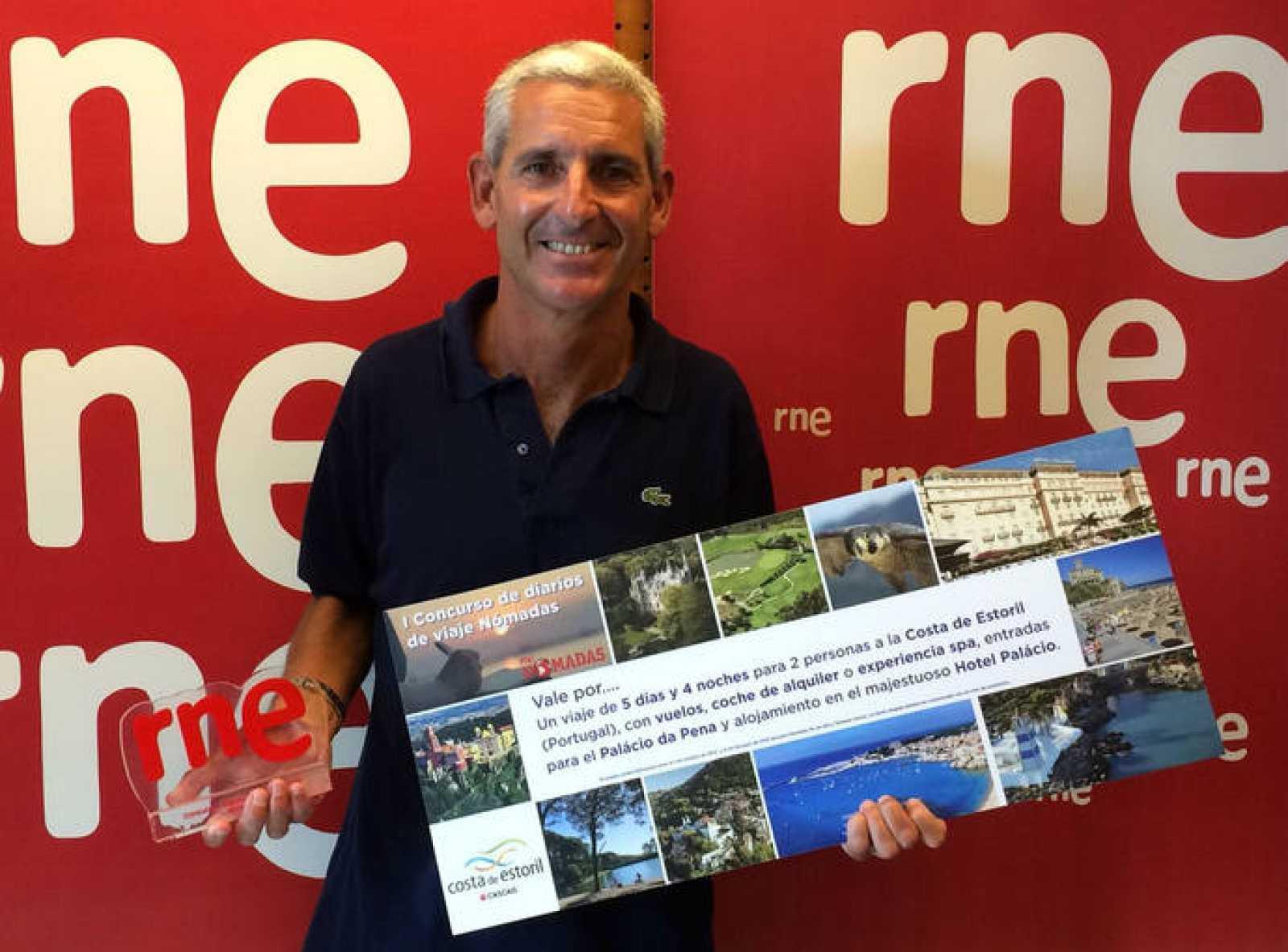 Fede Biggi, ganador del concurso de diarios de viaje