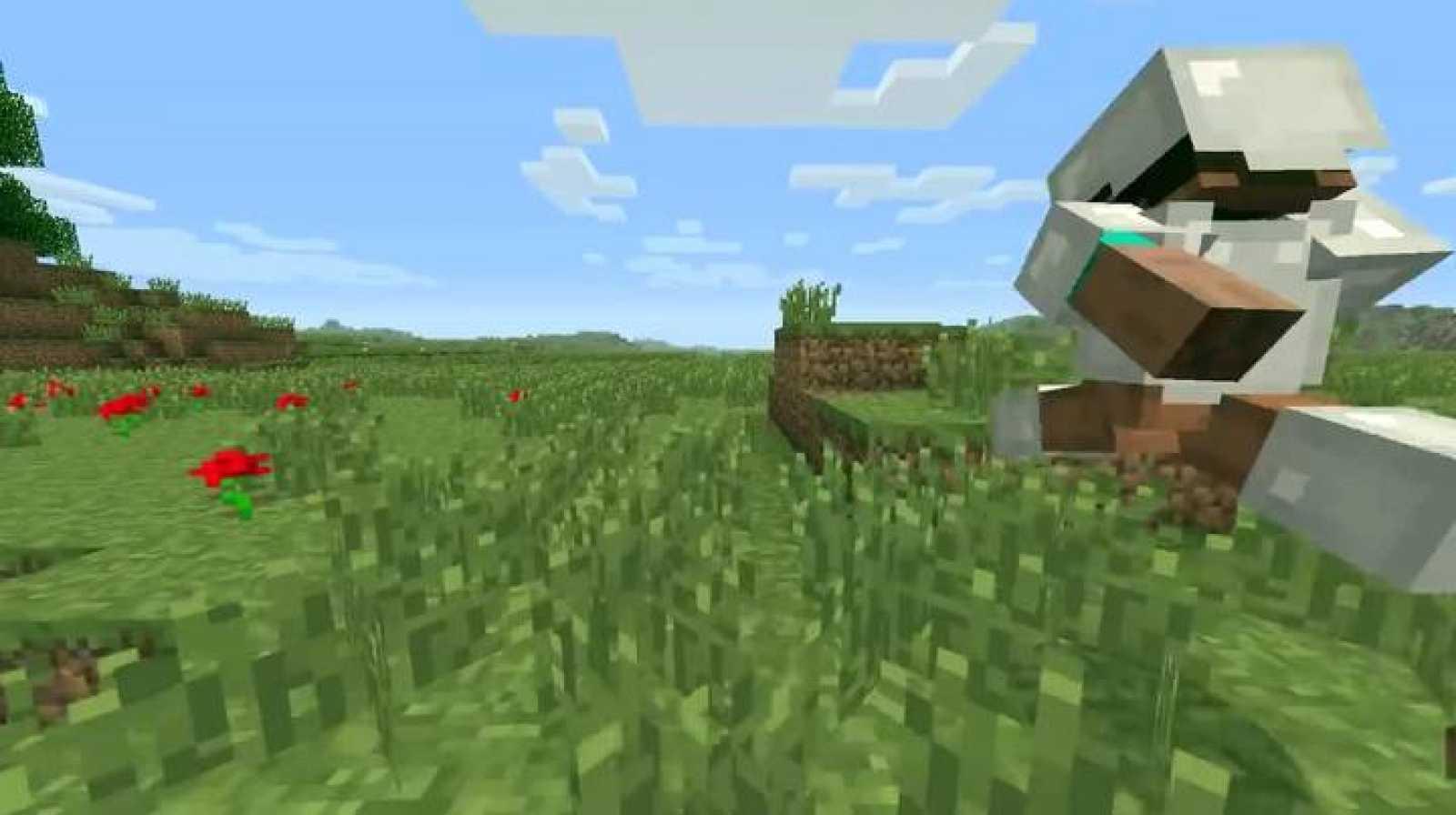 Fotograma de 'Minecraft'.
