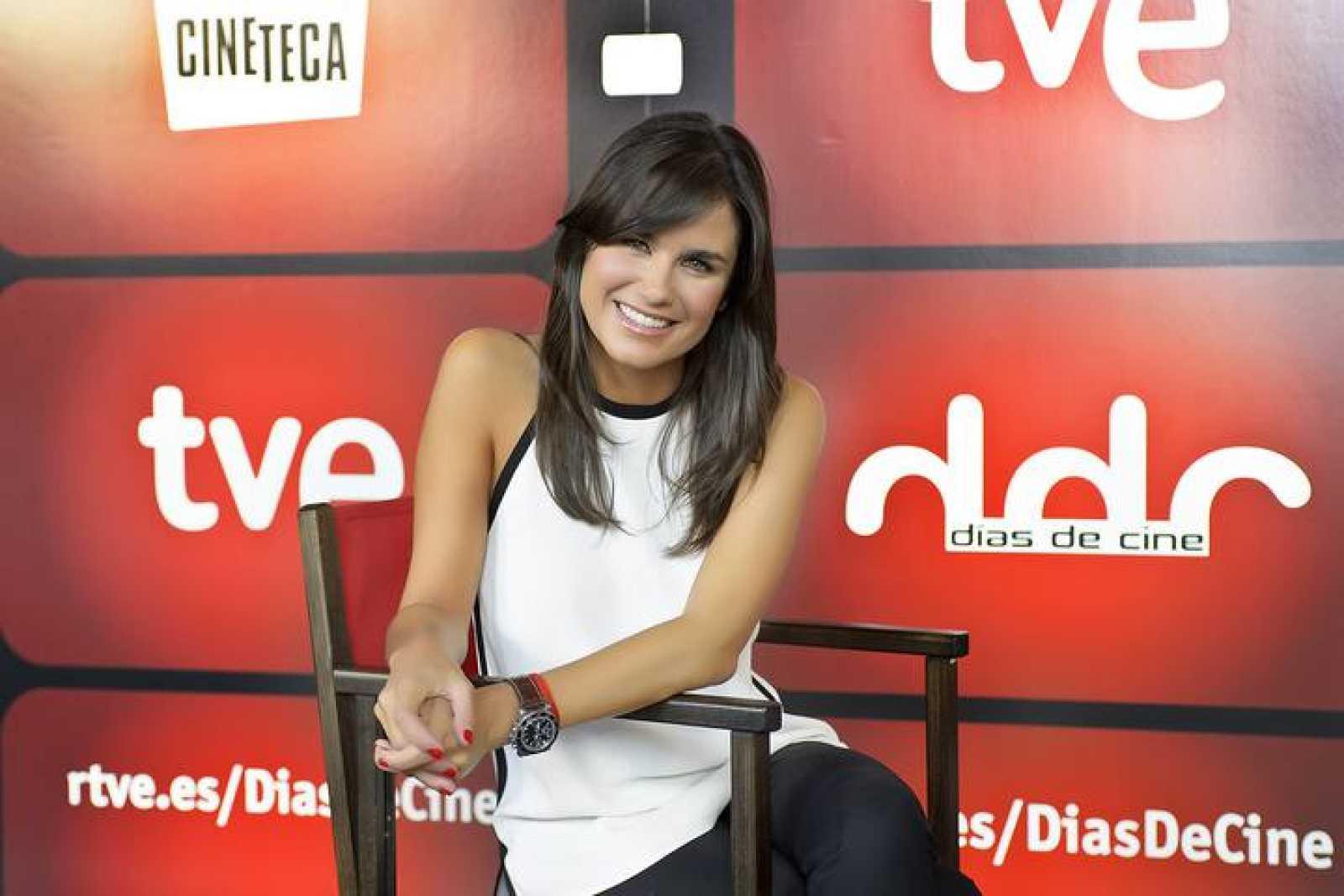 Elena S. Sánchez, nueva presentadora de 'Días de cine'.