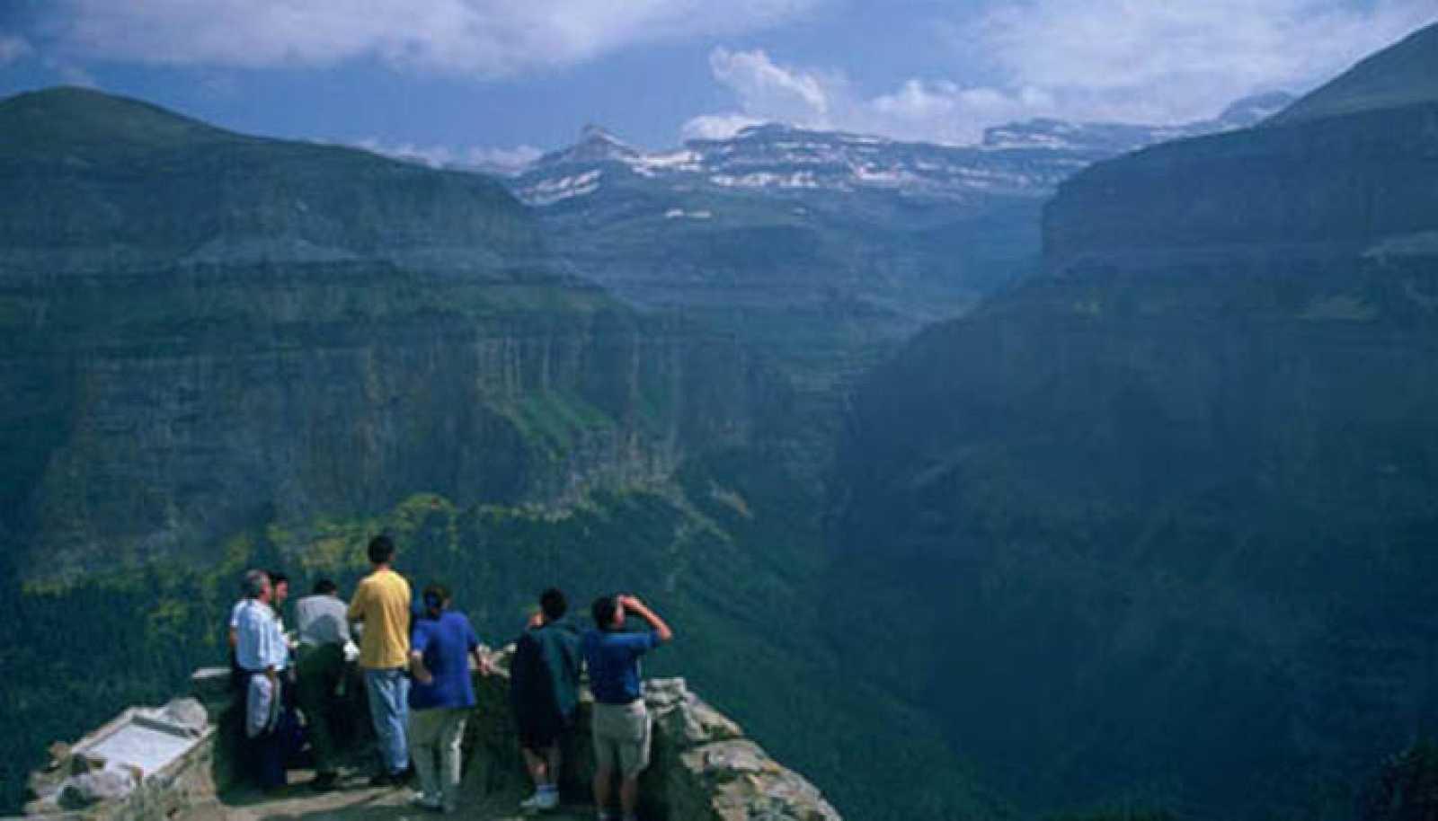 Uno de los miradores del Parque Nacional de Ordesa y Monte Perdido