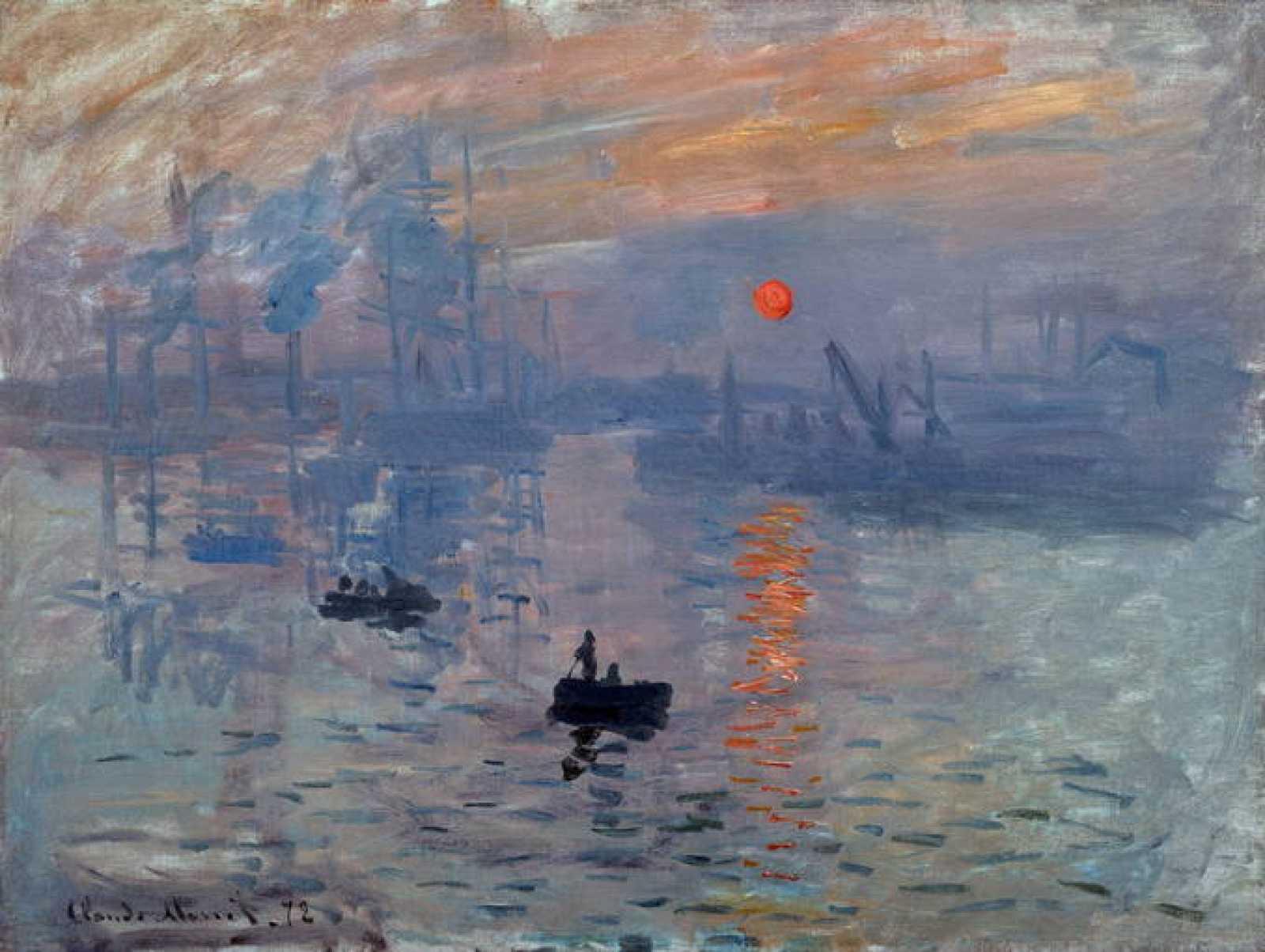 "Claude Monet, ""Impression, soleil levant"" (1872)"