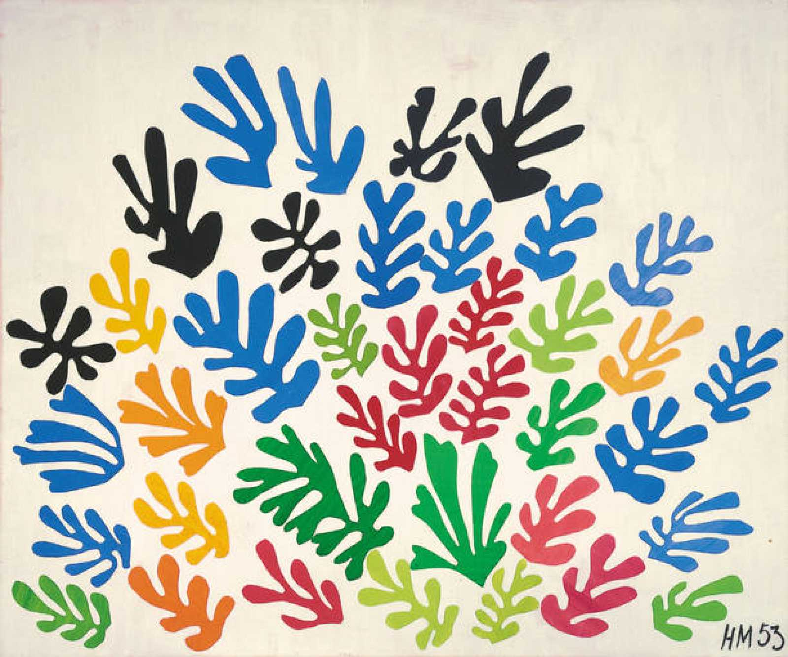 "Henri Matisse ""La gavilla"" (1953)"