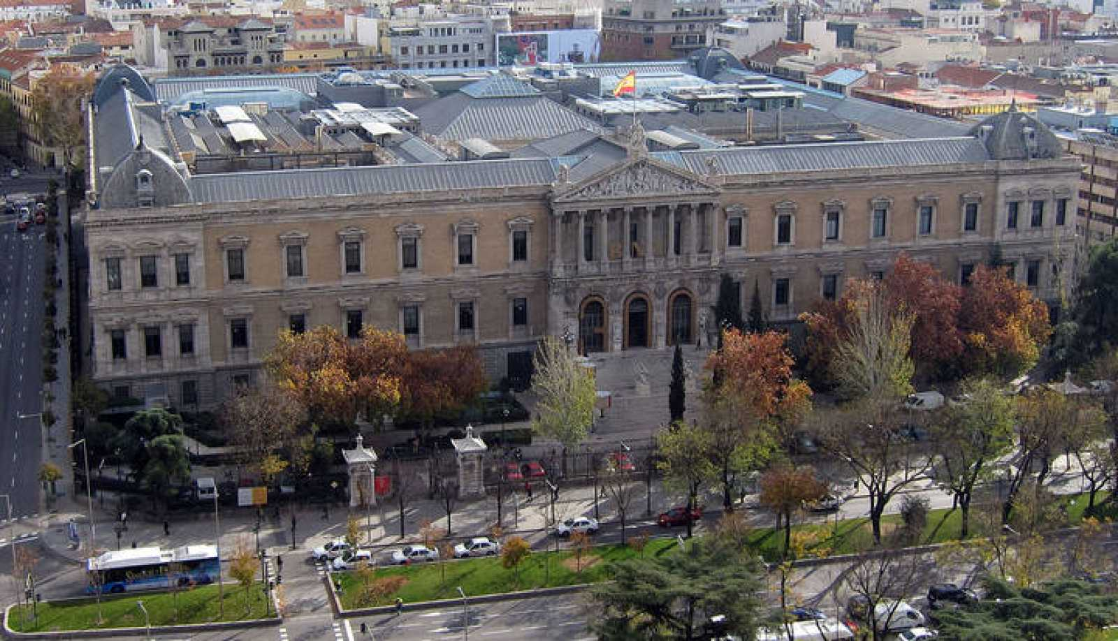 Edificio de la Biblioteca Nacional.