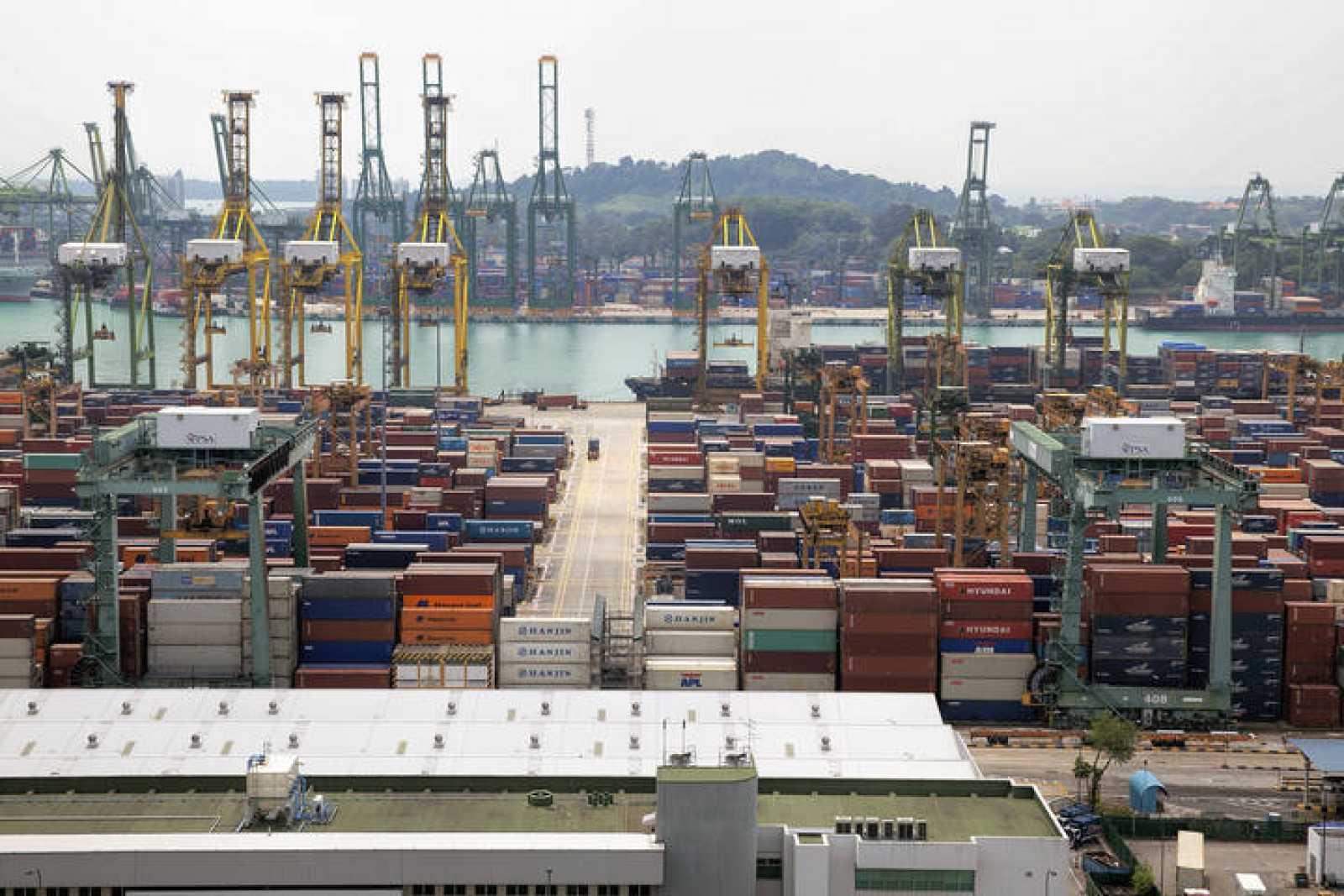 El puerto de Singapur