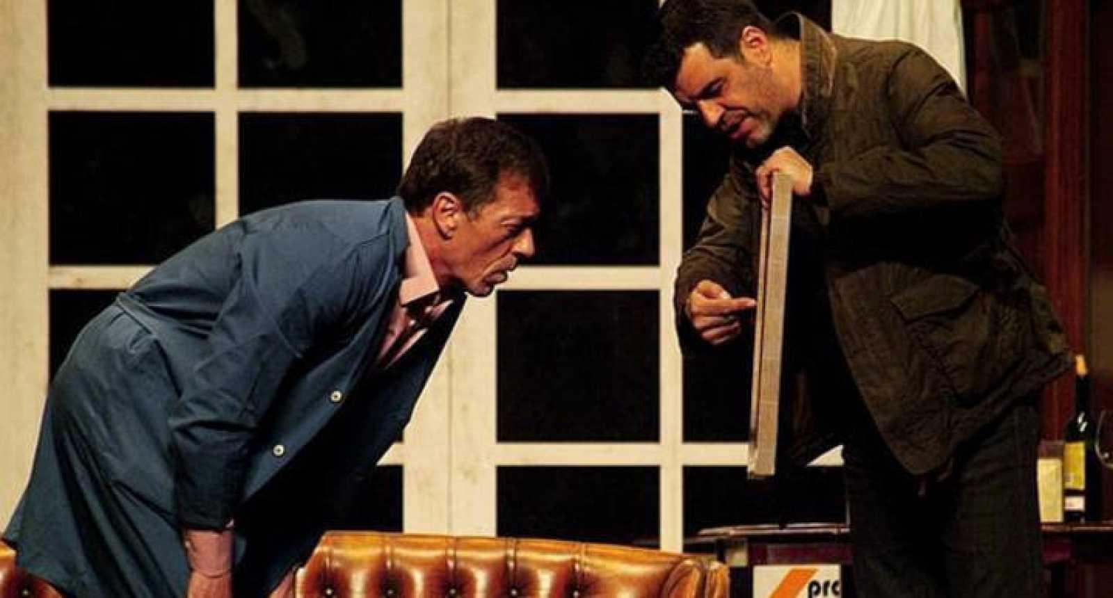 Andoni Ferreño y Ramón Langa protagonizan este drama sobre el momento en que dos hermanos se ven obligados a repartirse la herencia de sus padres.