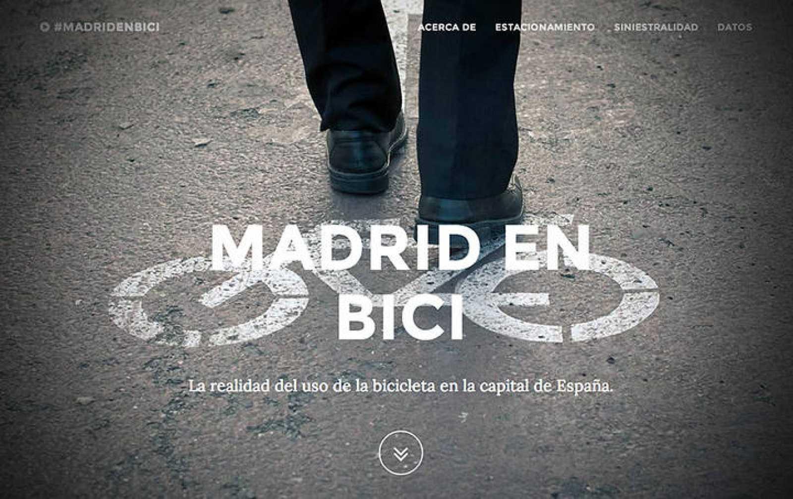 Portada del proyecto 'Madrid en Bici'