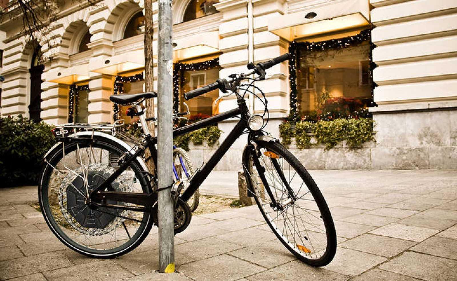 Una de las bicicletas eléctricas de Daymak
