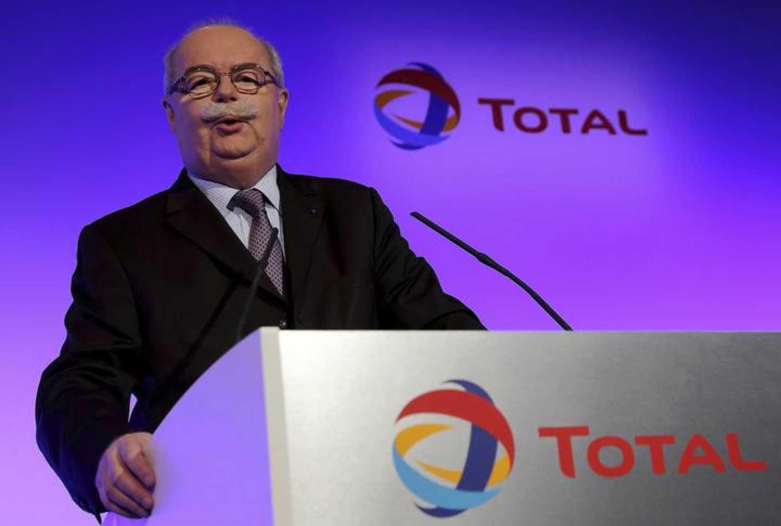 Christophe de Margerie, presidente de la petrolera Total, en una imagen de archivo.