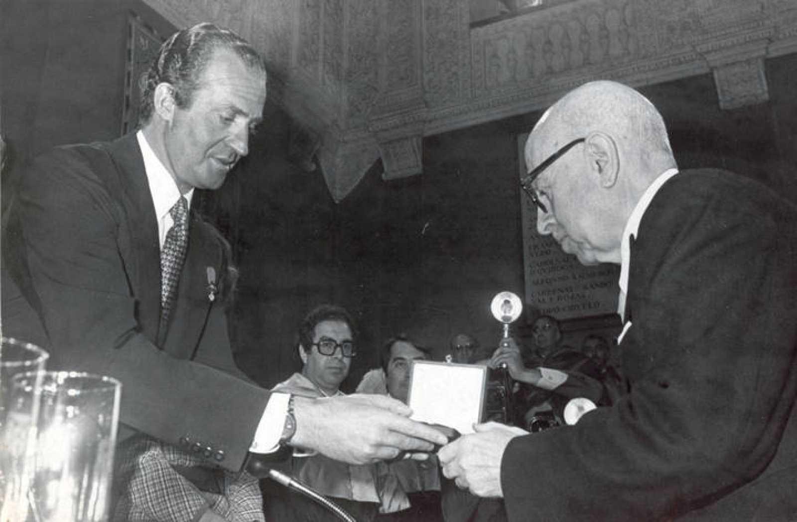 Dámaso Alonso, Premio Cervantes 1978