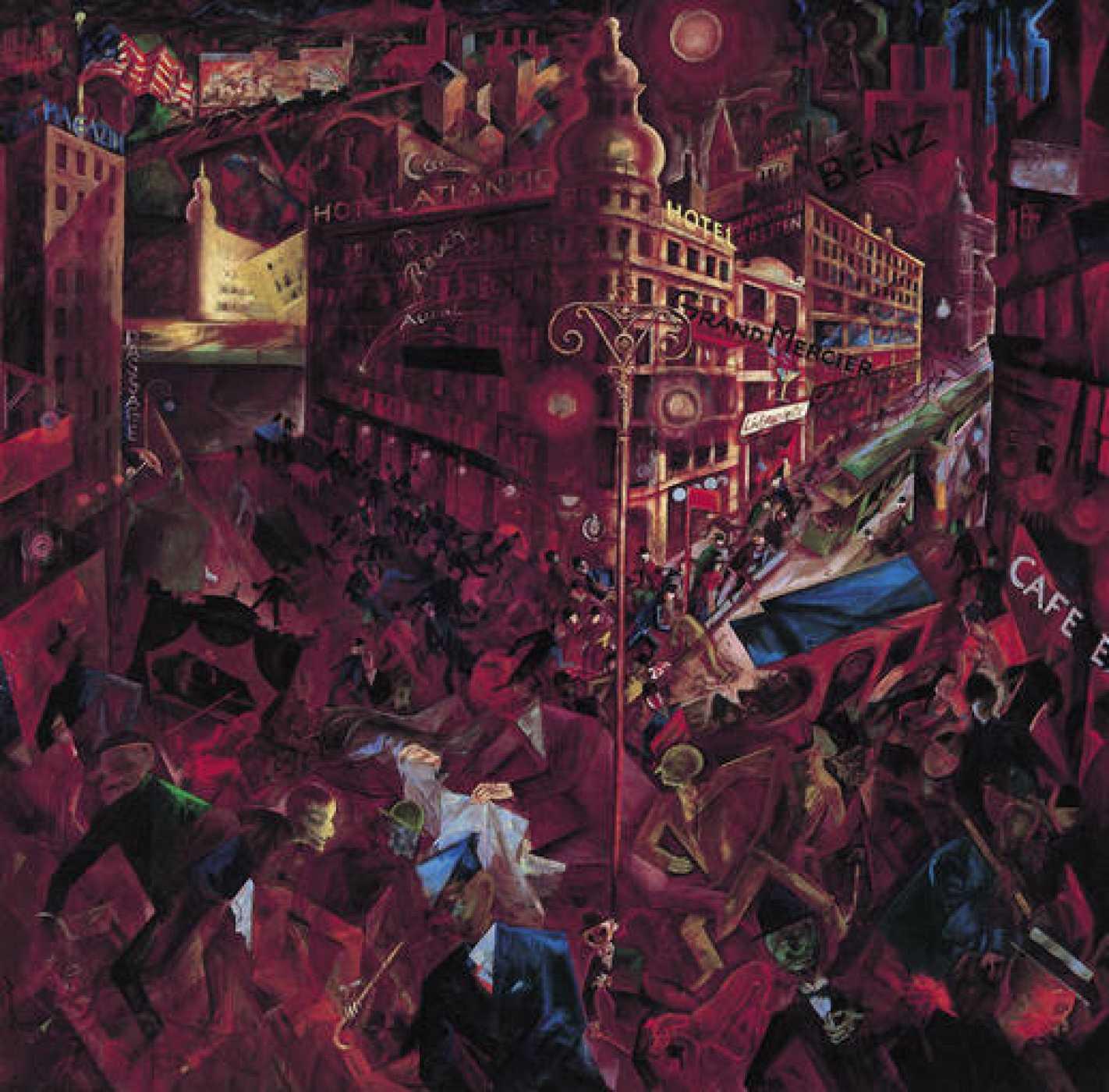 "George Grosz, ""Metrópolis"" (1916-1917)"