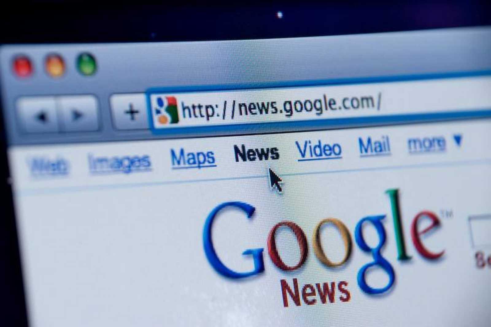 Pantallazo de Google News.