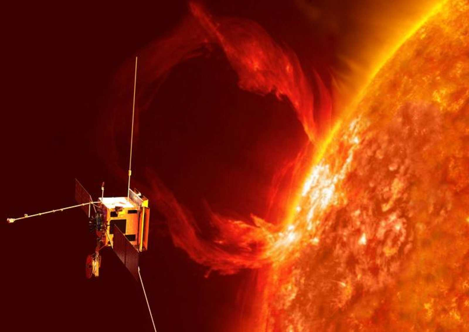 Ilustración de la misión Solar Orbiter.