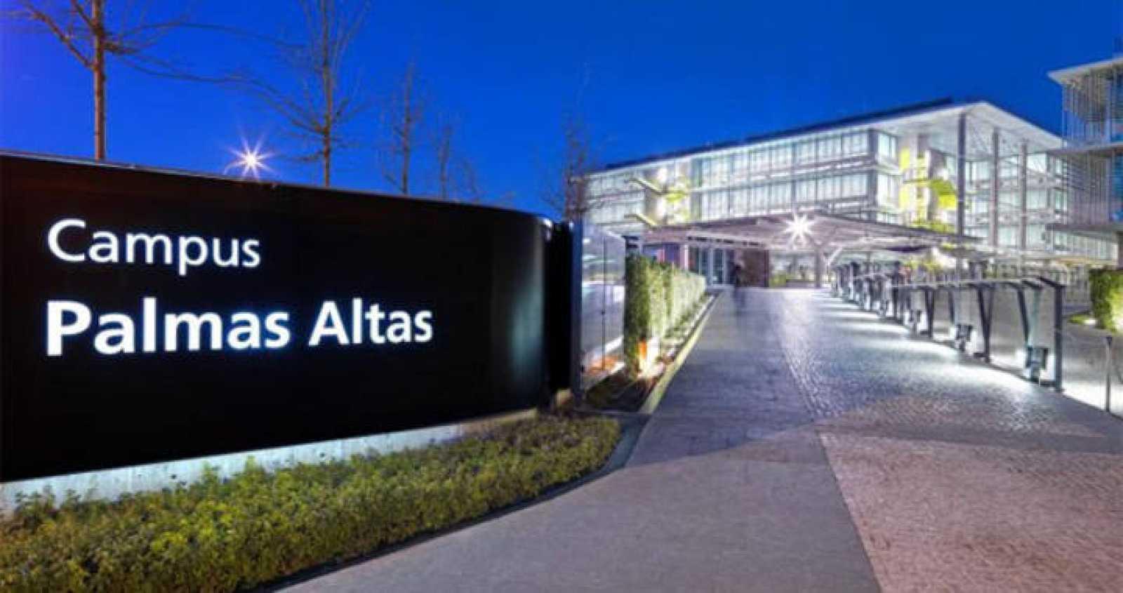 Campus Palmas Altas, sede de Abengoa, en calle Energía Solar en Sevilla, España