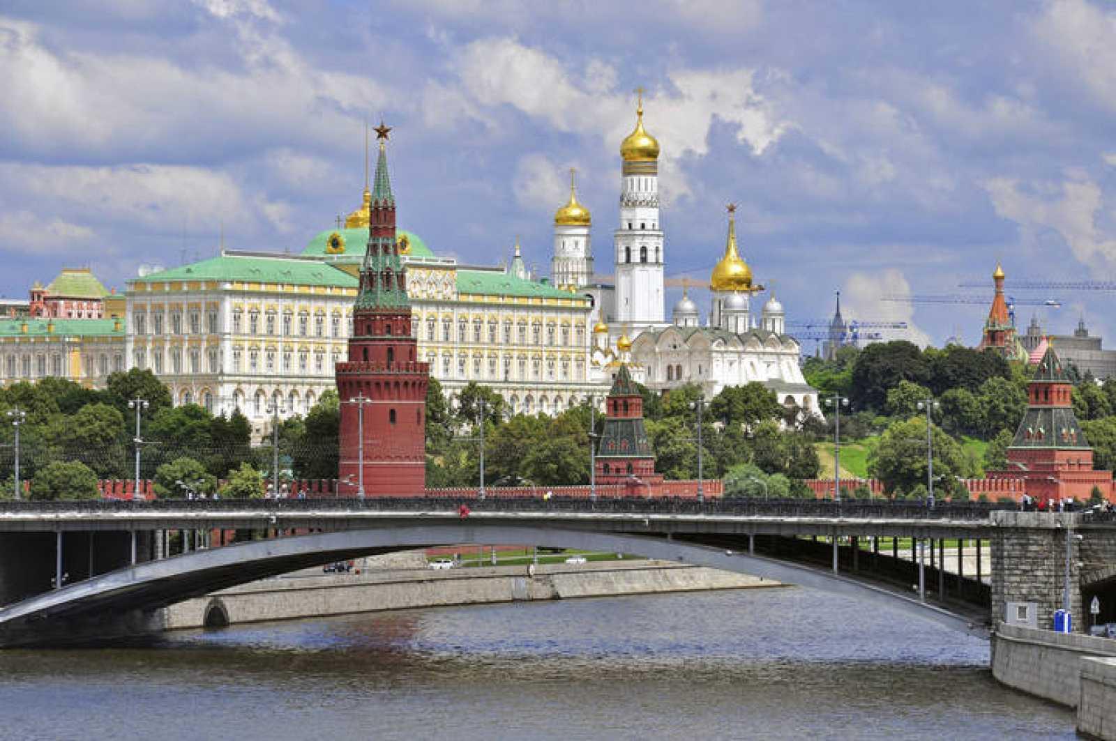 Vista del Kremlin de Moscú