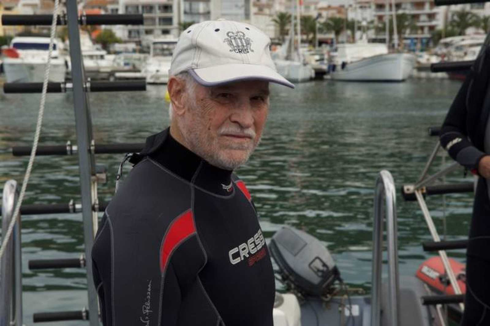 Eduard Admetlla, el pionero del submarinismo español.