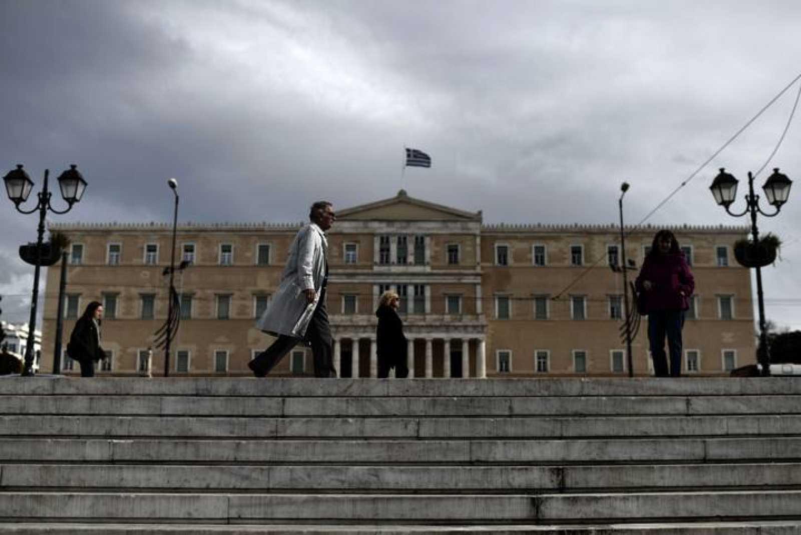 Parlamento de Grecia, en Atenas