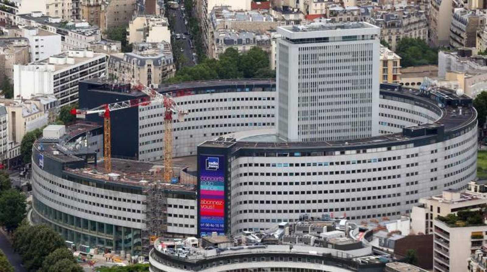 La Casa de la Radio, sede de Radio France en París