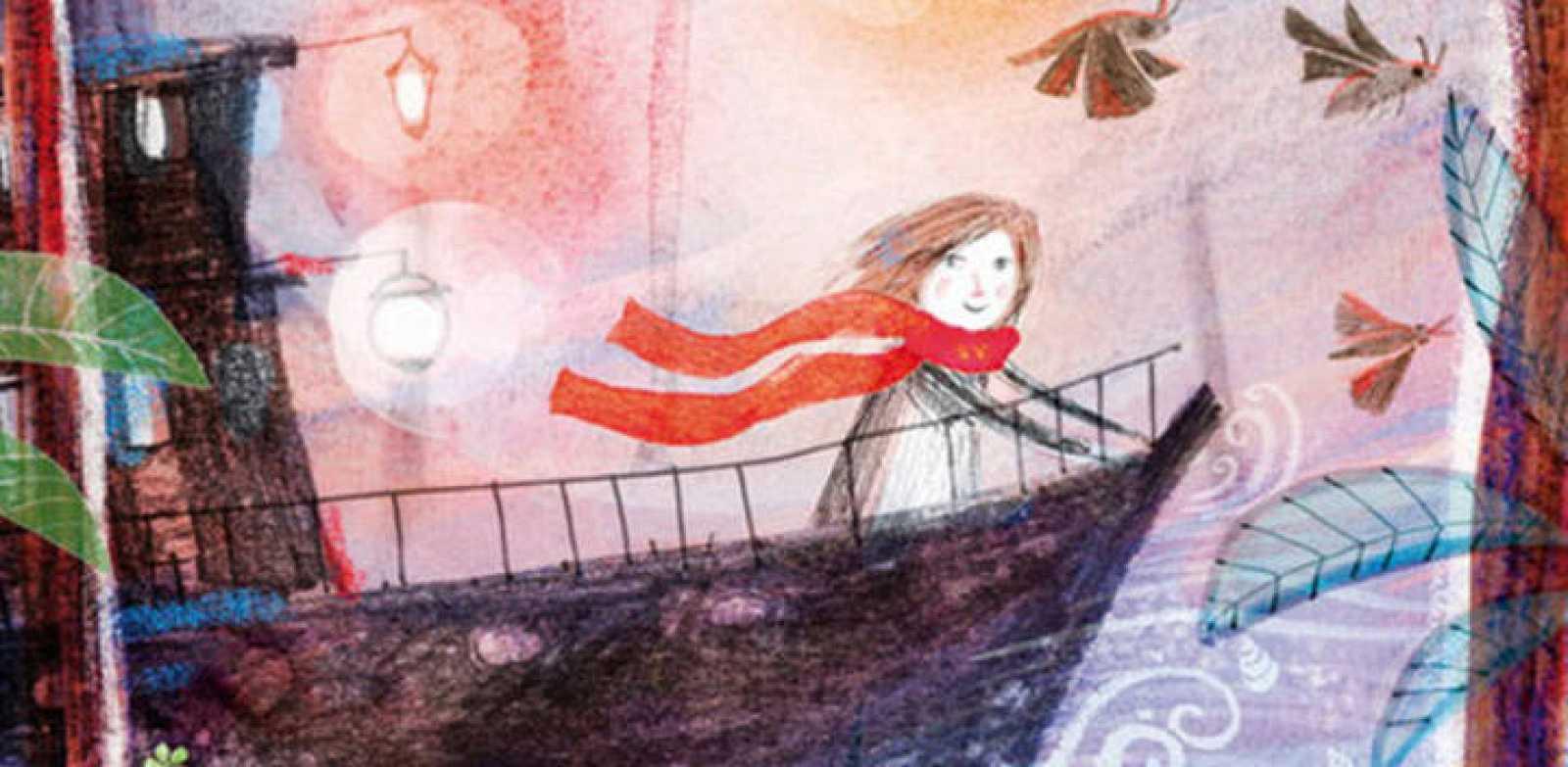 Fragmento de la portada de 'Lila Sacher y la expedición al norte'