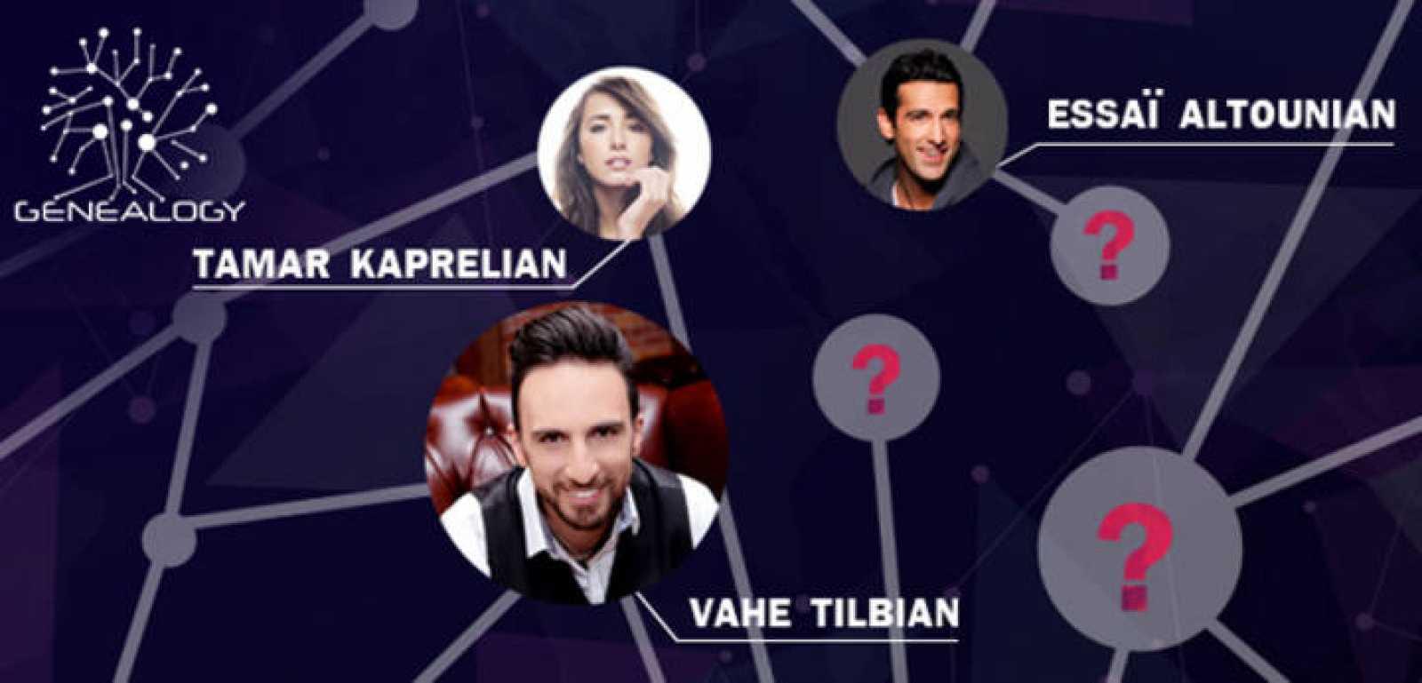 Armenia ha elegido a tres de los artistas de Genealogy