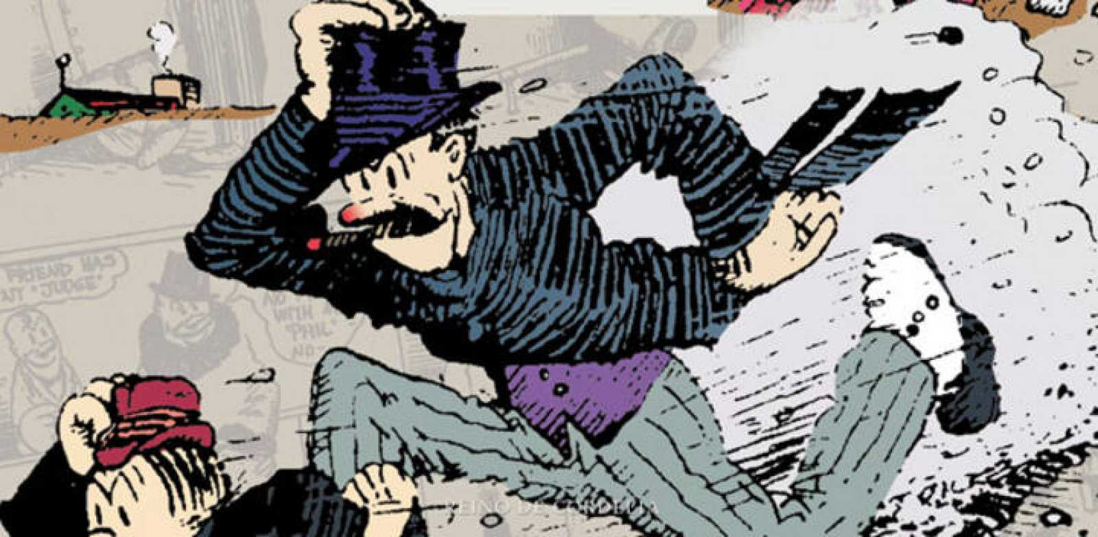 Fragmento de la portada de 'Barón bean'